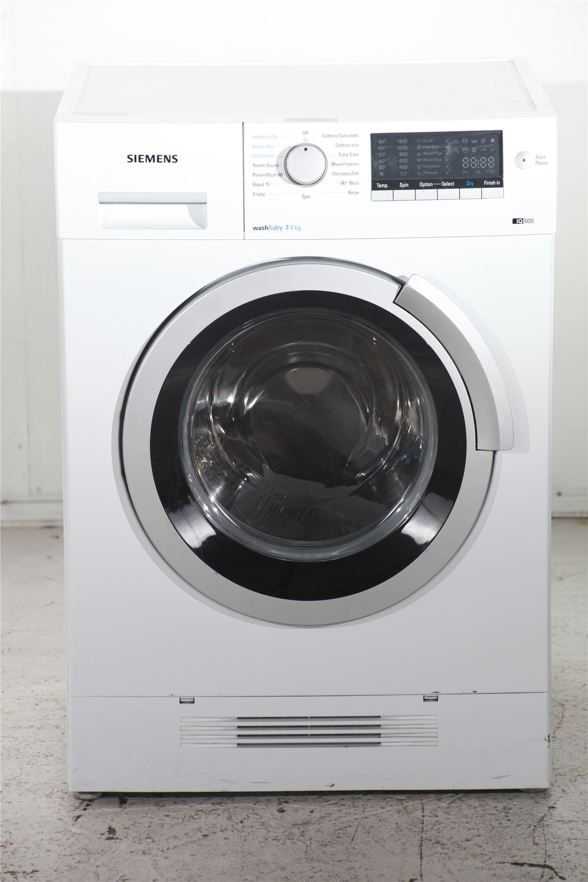 preloved siemens iq500 7 4kg washer dryer wd14h420gb white for sale in liverpool merseyside. Black Bedroom Furniture Sets. Home Design Ideas