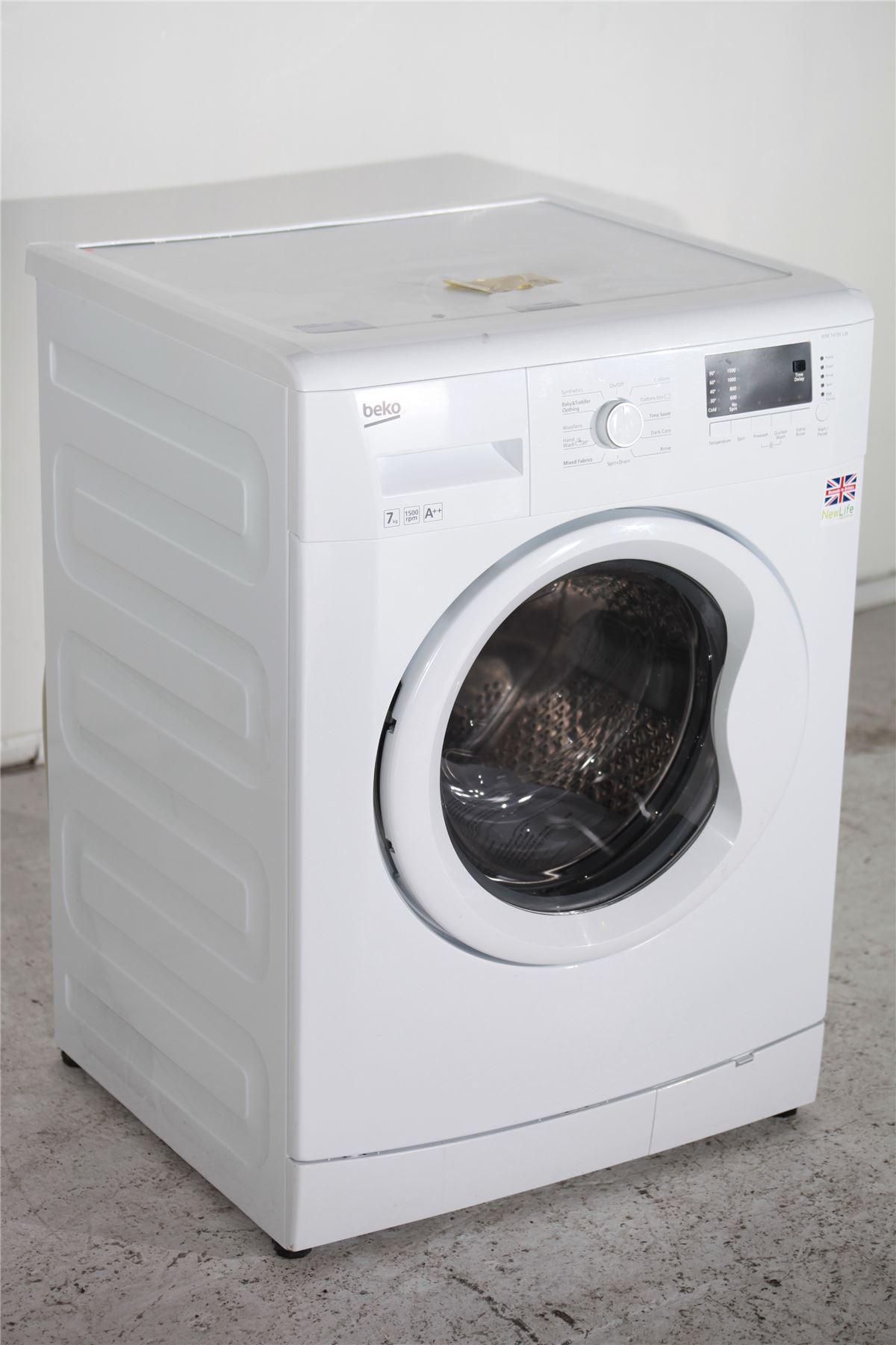 preloved beko 7kg washing machine 1500 spin wm77155lw. Black Bedroom Furniture Sets. Home Design Ideas