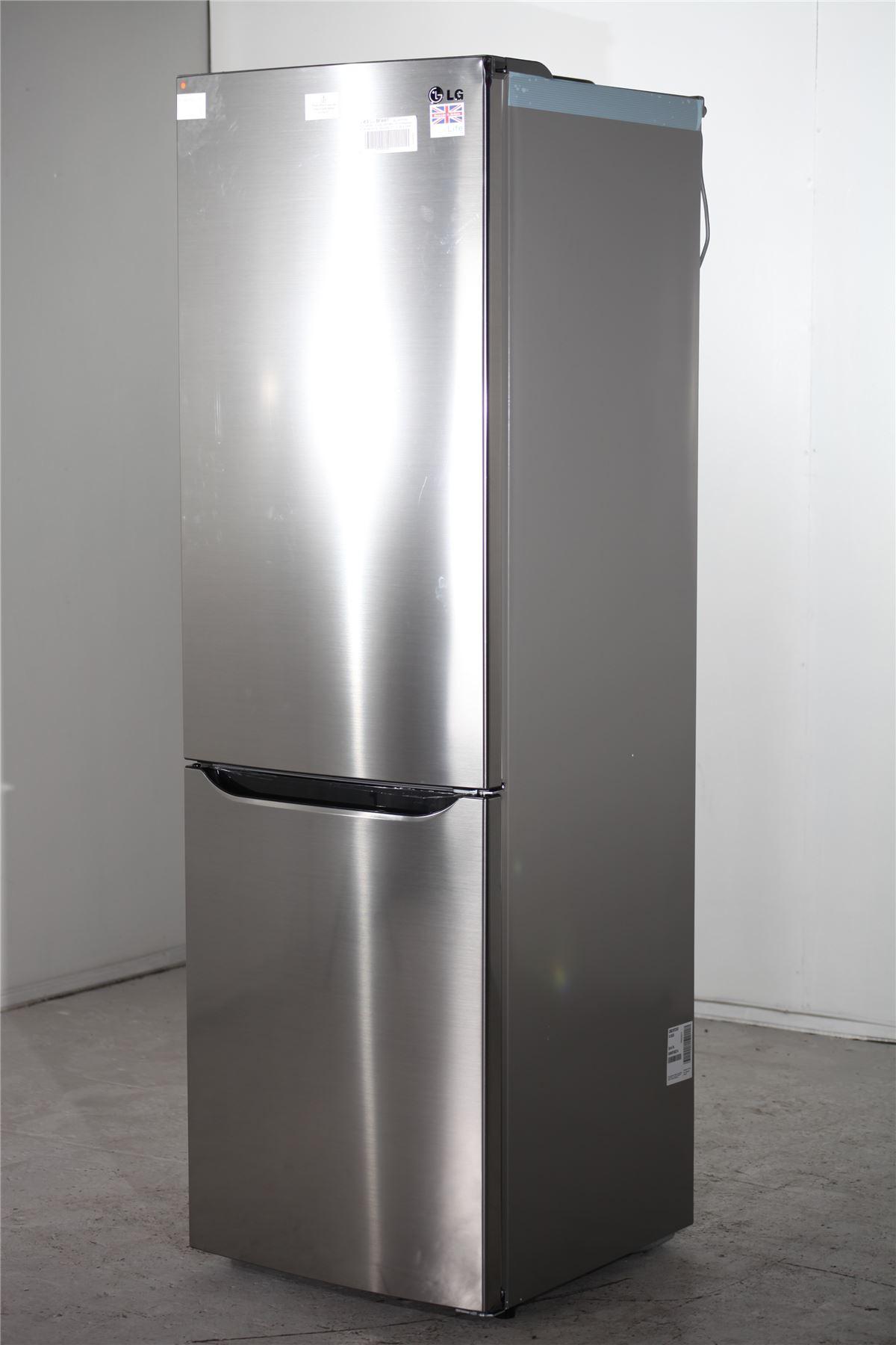 preloved lg fridge freezer gbb39pzcws silver for. Black Bedroom Furniture Sets. Home Design Ideas