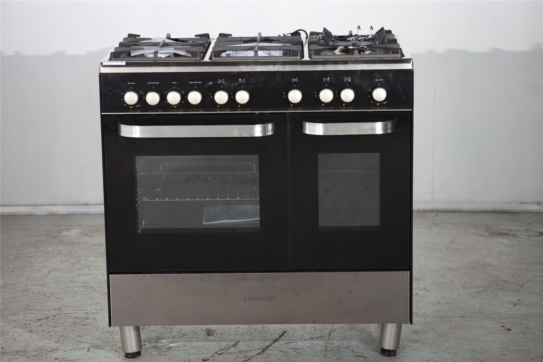 Preloved Kenwood Range Gas Cooker Ck405g Black
