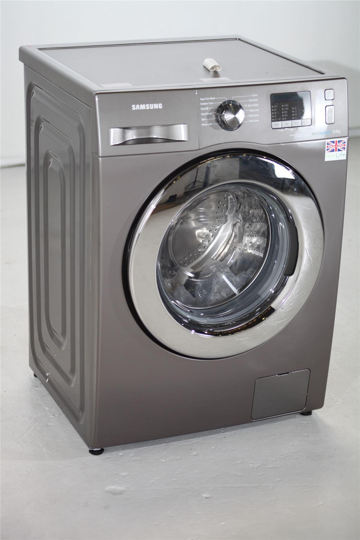 k 564150 samsung 8kg ecobubble washing machine. Black Bedroom Furniture Sets. Home Design Ideas