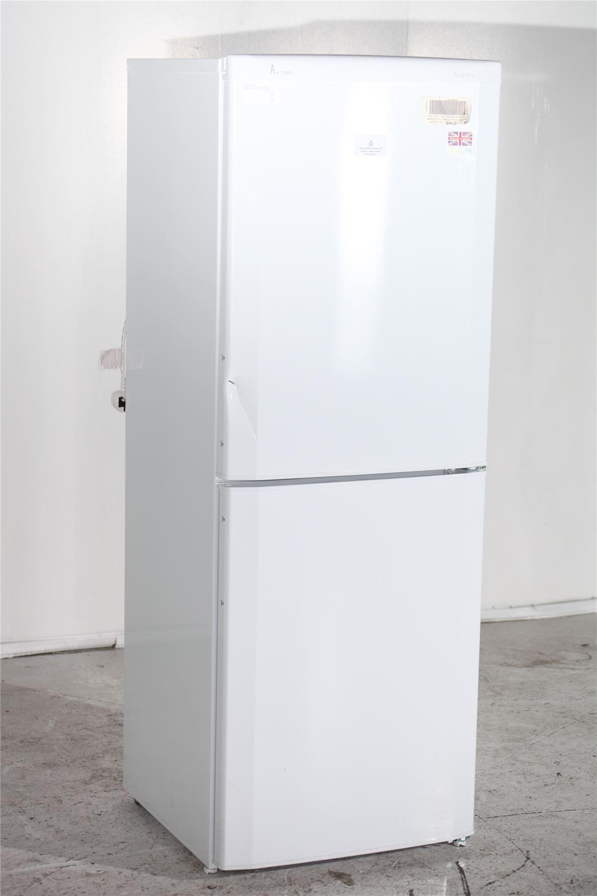 preloved beko fridge freezer cxf5083w silver for. Black Bedroom Furniture Sets. Home Design Ideas