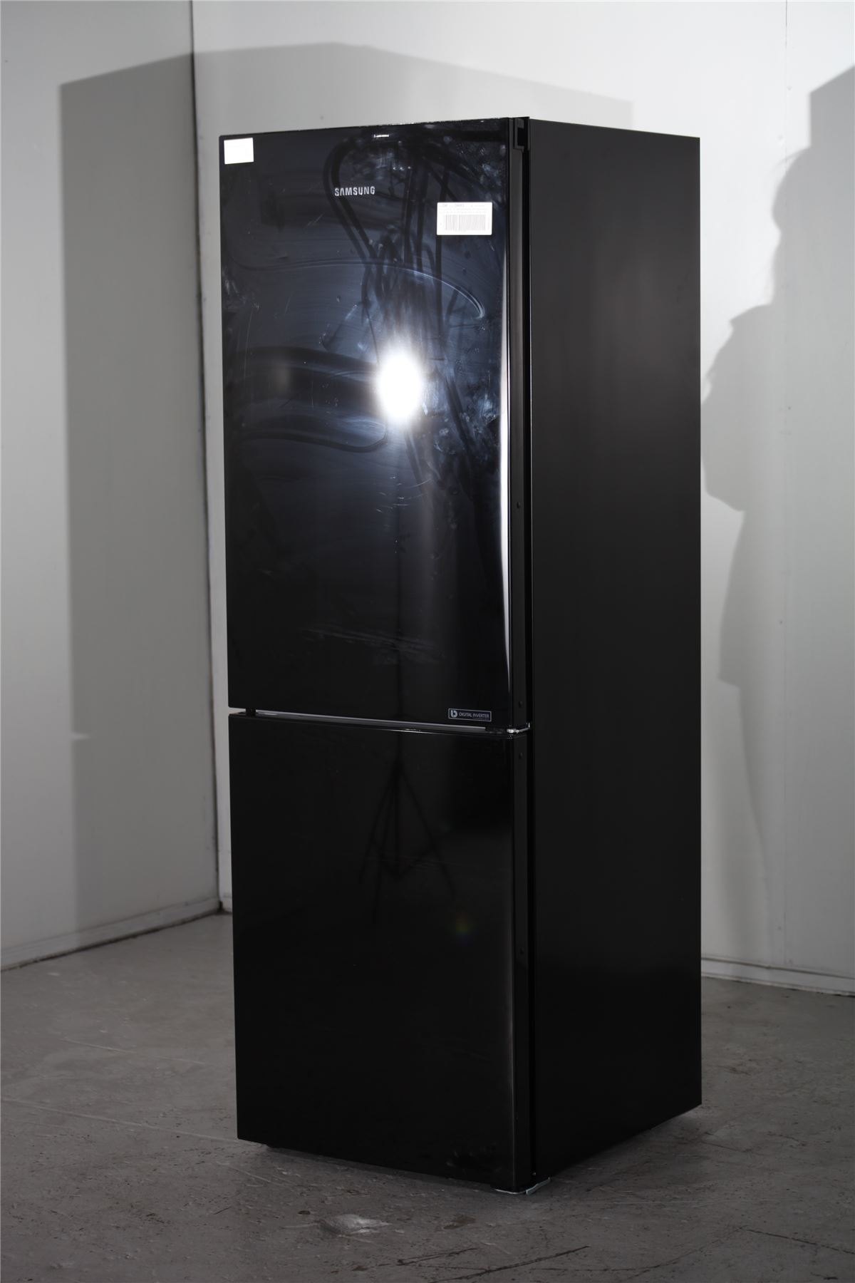 preloved samsung fridge freezer rb29fwjndsa black for sale in edmonton london. Black Bedroom Furniture Sets. Home Design Ideas