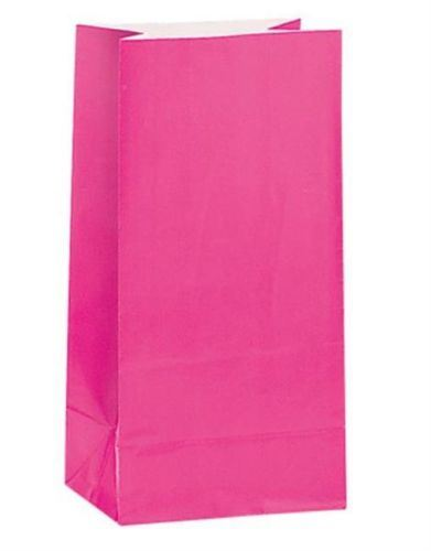 PAPER PARTY LOOT TREAT GIFT SWEET BAGS MANY COLOURS