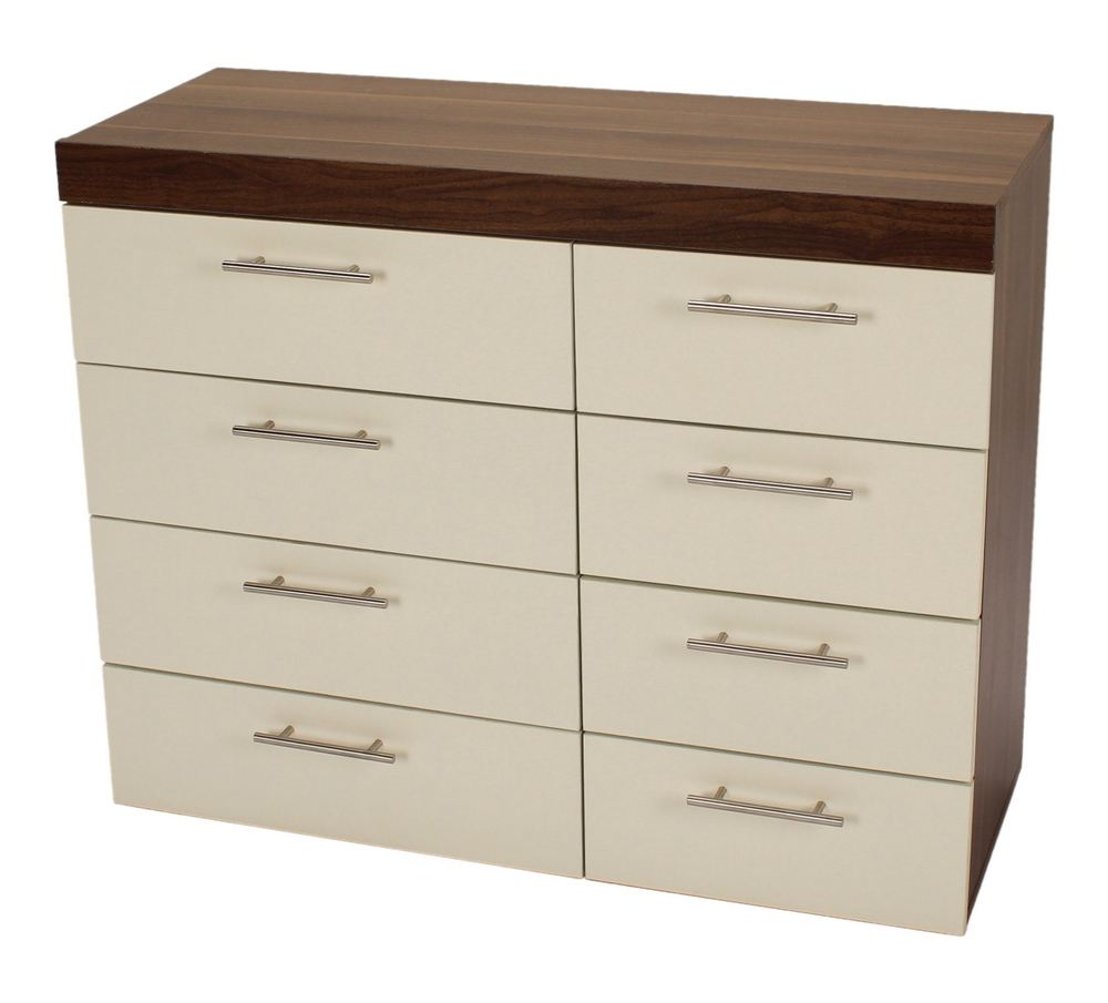 White walnut bedroom cabinets furniture set ebay for White bedroom cabinet