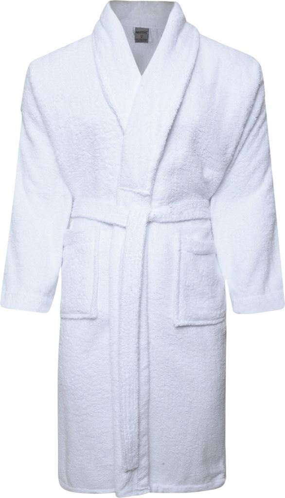 Mens & Womens 100% Cotton Terry Towelling Shawl Collar Bath robe Dressing Gown