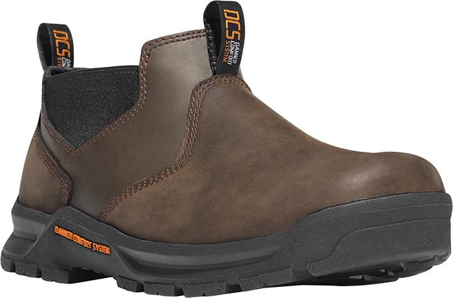 "Danner Crafter Romeo 12441 Mens Brown Hot 3"" Waterproof Slip ..."