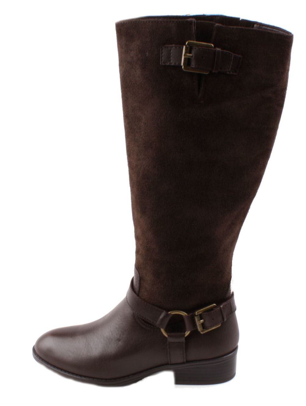 ralph mcleod womens brown suede boots