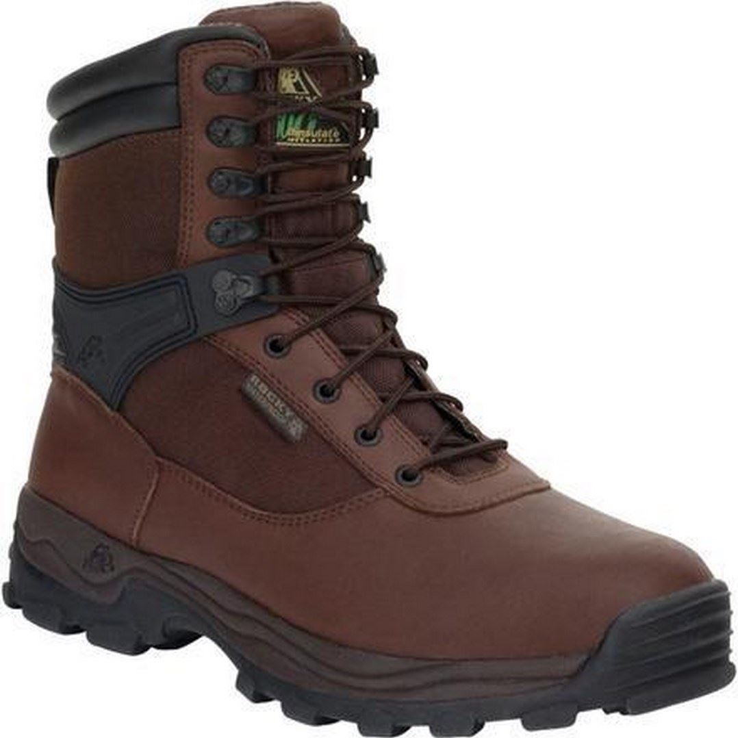 rocky 6486 mens brown sport utility pro steel toe
