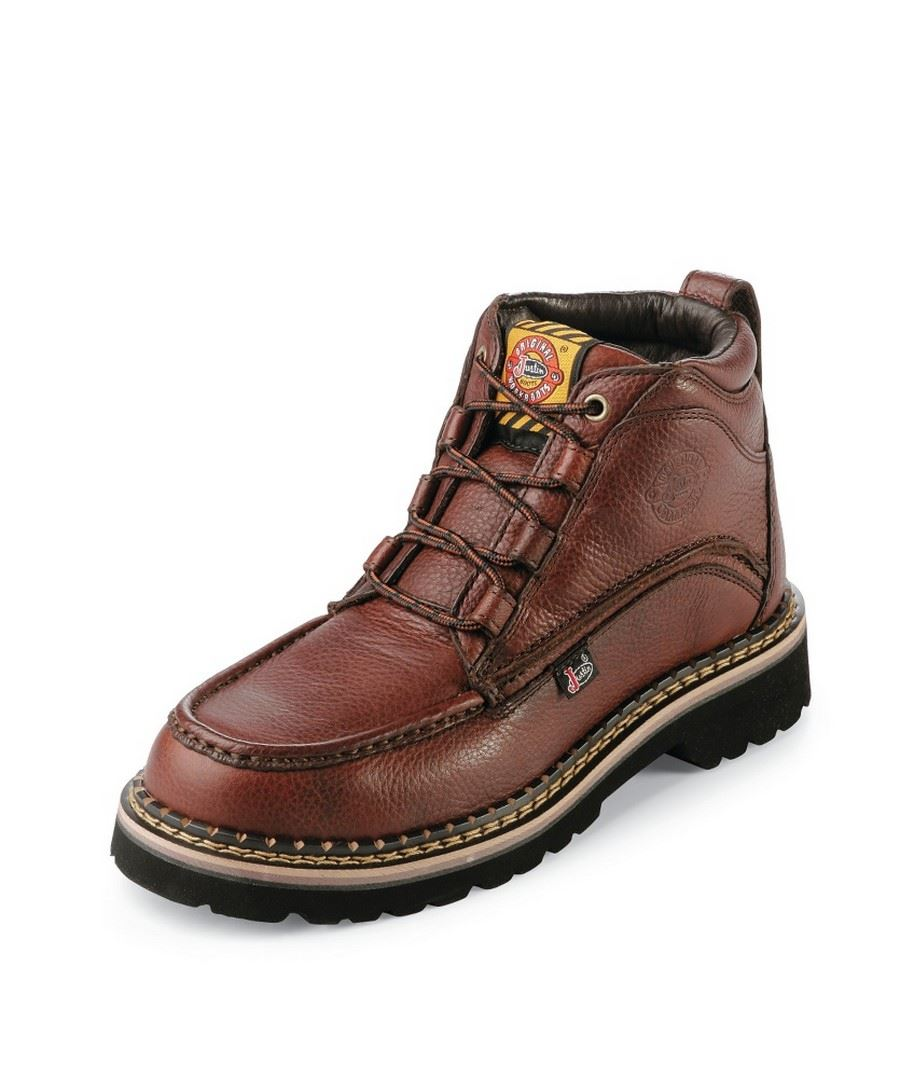 Justin Original Wk900 Mens Premium Light Duty Steel Toe
