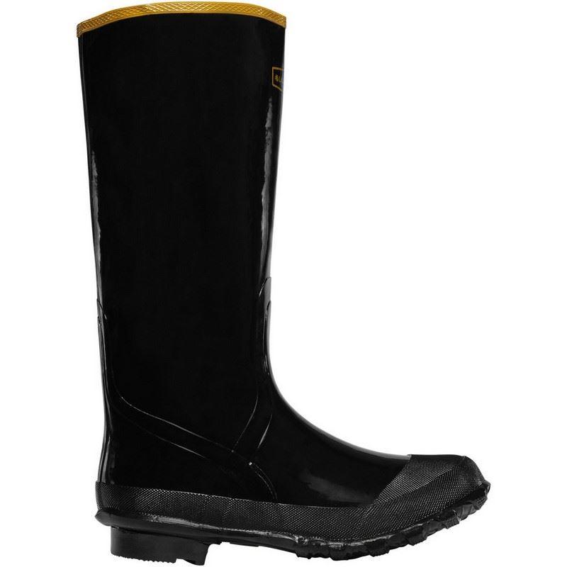 lacrosse economy 24009033 mens black rubber 16 quot waterproof