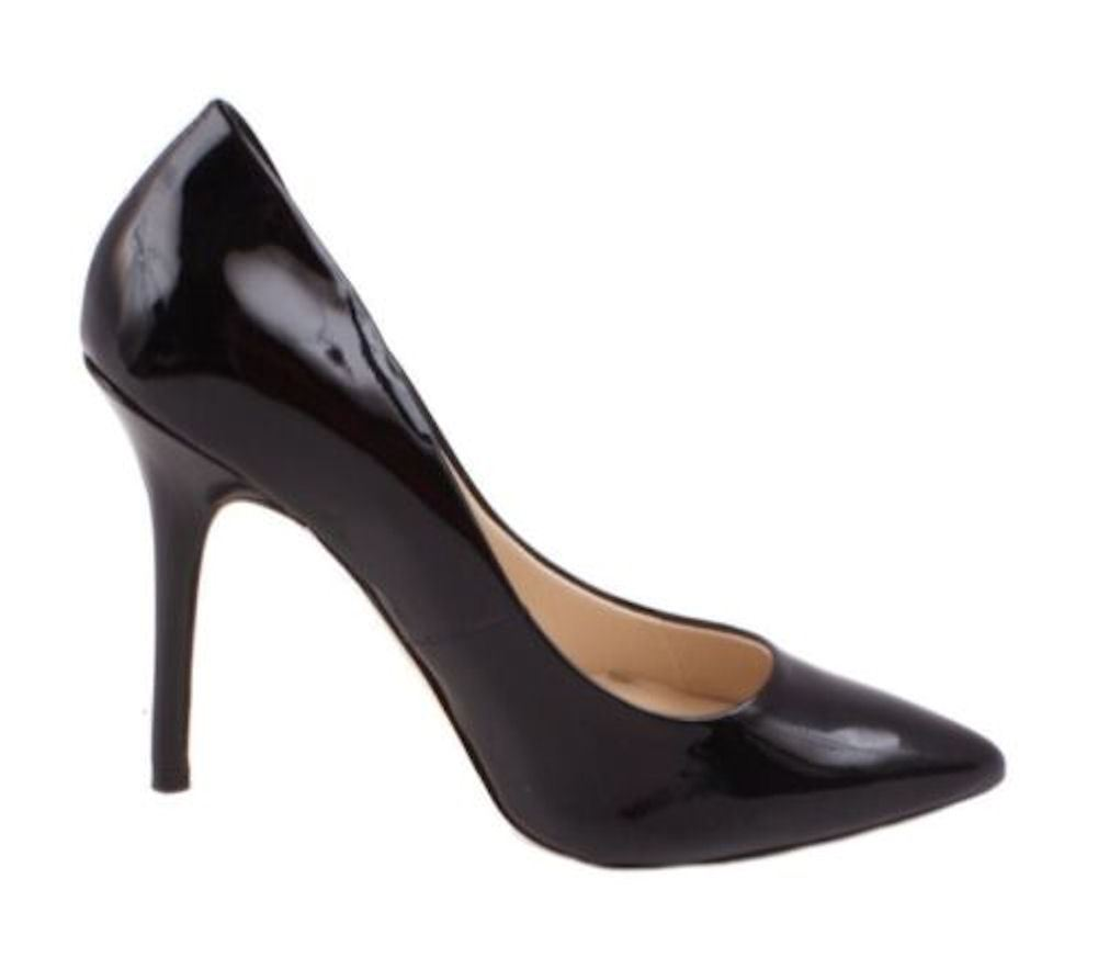 Boutique 9 by Nine West Sally Womens Black Patent Leather ...