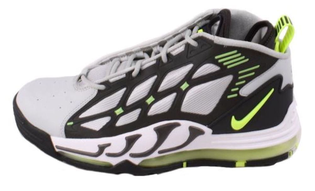 100% authentic 12921 a2a09 ... nike air pillar max grey and green ...