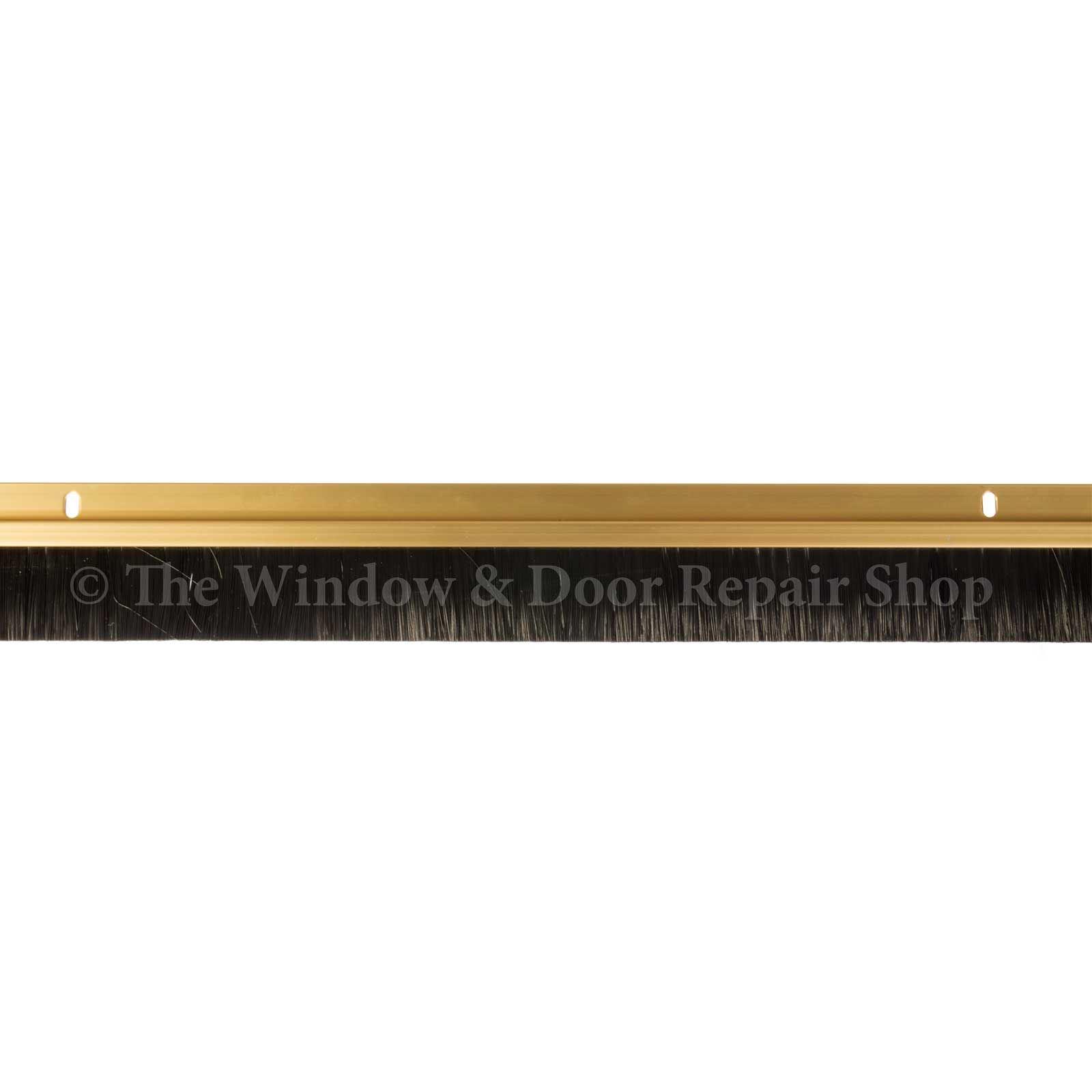 Draught Excluder Quality Aluminium Metal Bottom Door Brush