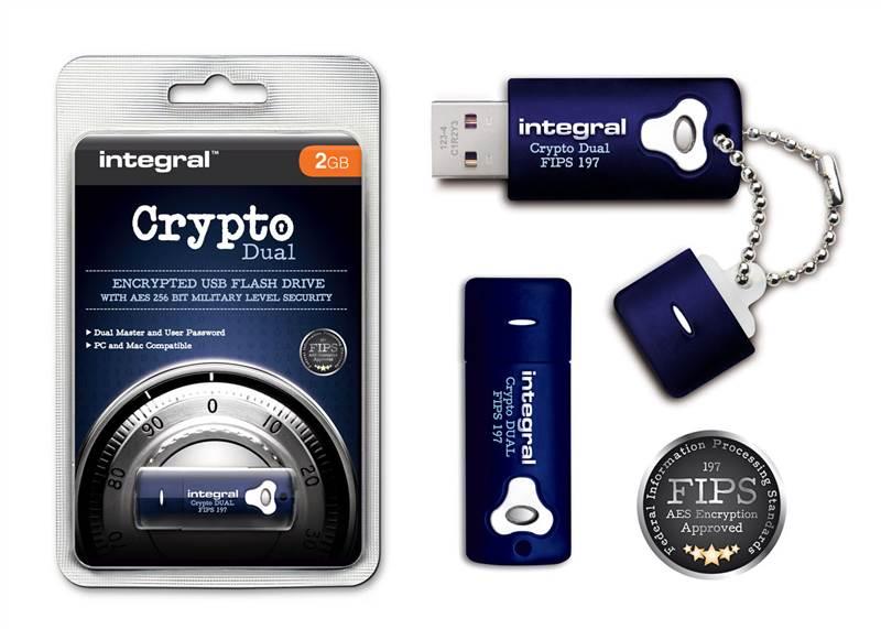 integral secure crypt 2 go usb cl 256 bit s curit militaire pour pc mac ebay. Black Bedroom Furniture Sets. Home Design Ideas