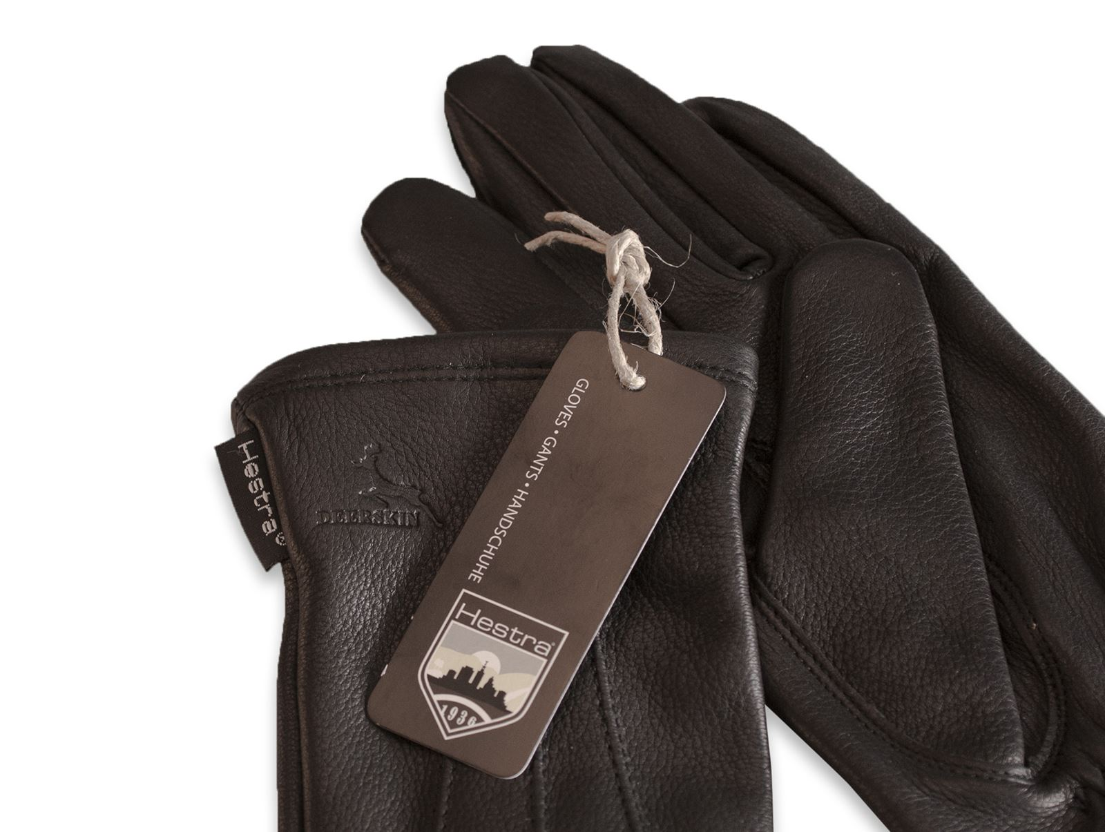Womens lined leather gloves - Hestra Premium Ladies Deerskin Leather Gloves Silk Lined