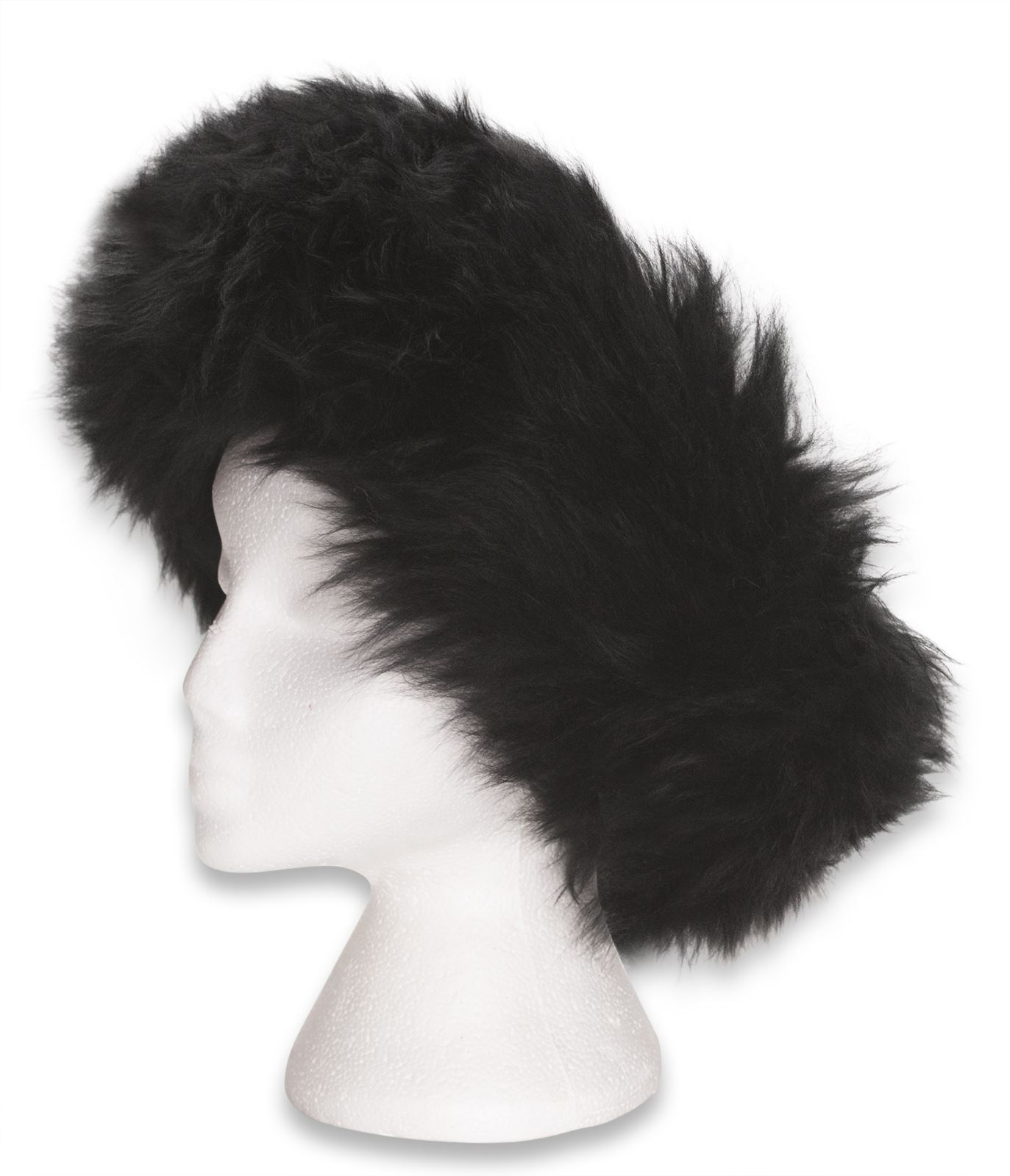 nordvek peau de mouton v ritable lastique bandeau t te bande mesdames femmes. Black Bedroom Furniture Sets. Home Design Ideas