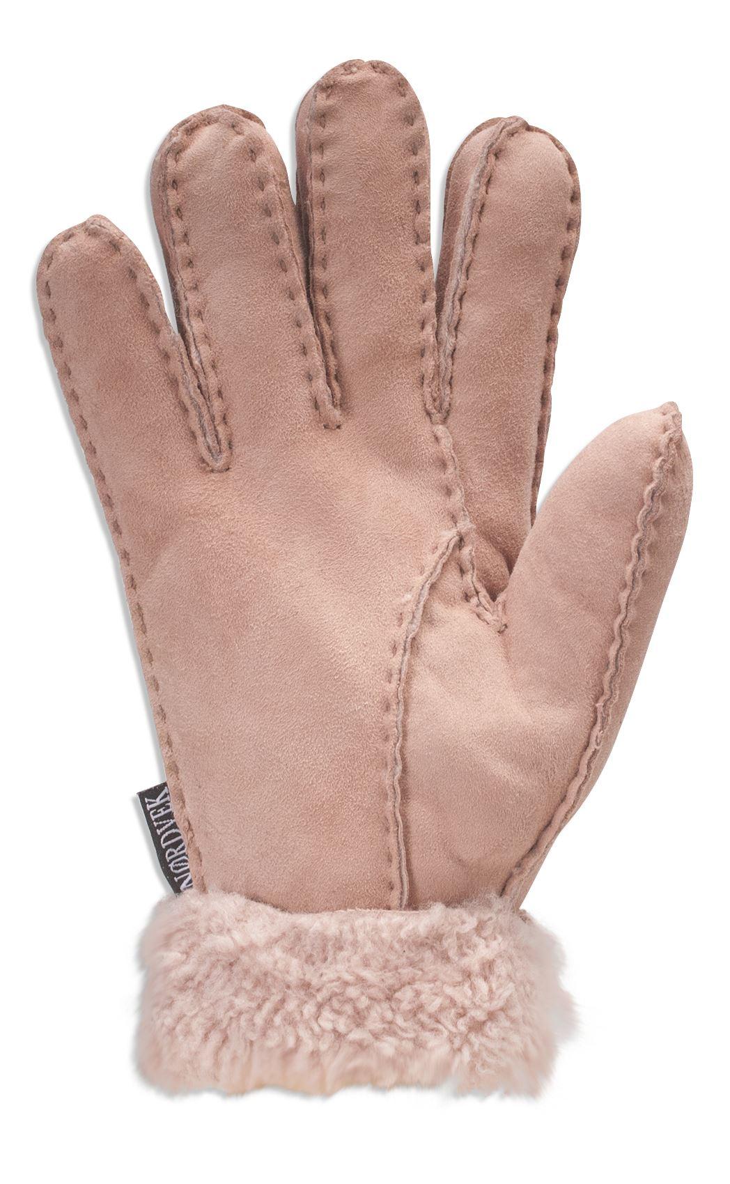 Nordvek Ladies Premium Genuine Sheepskin Winter Gloves ...