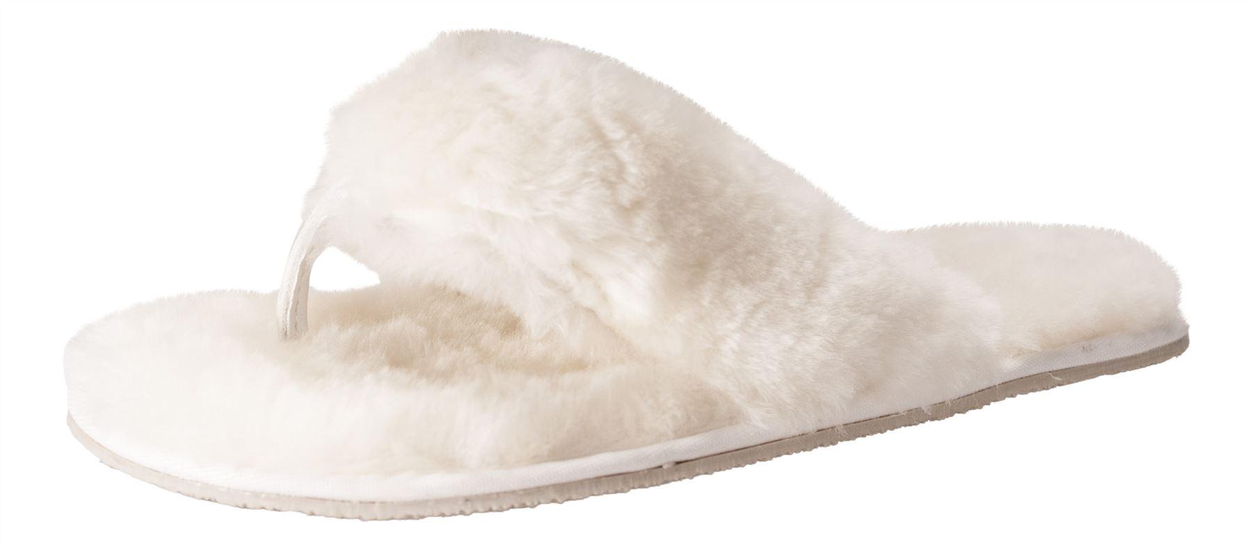 nordvek v ritable peau de mouton dames flip flop pantoufles tongs r el femmes ebay. Black Bedroom Furniture Sets. Home Design Ideas