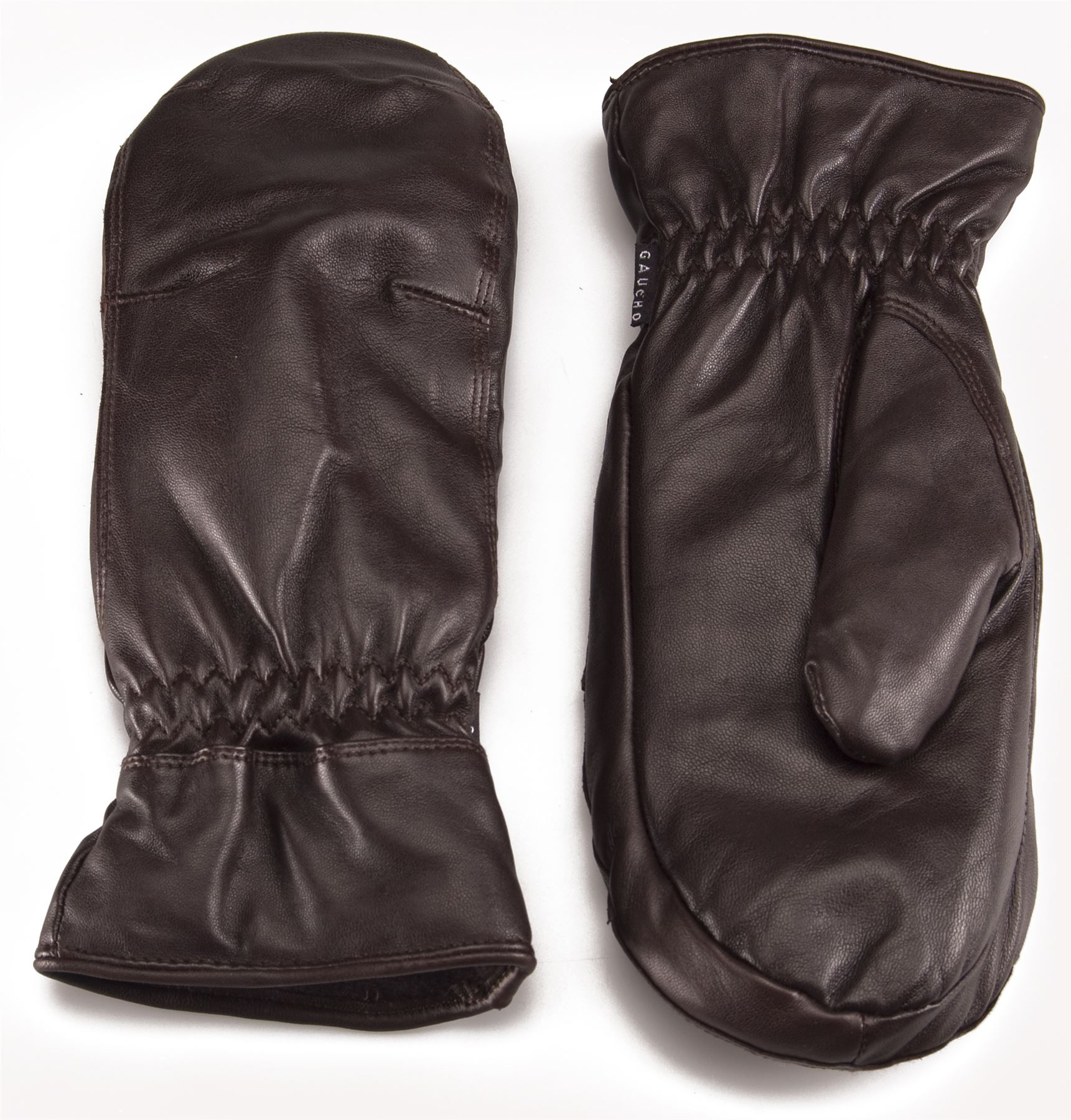 Womens leather gloves au - Gaucho Ladies Leather Mittens Gloves Primaloft Insulation Womens