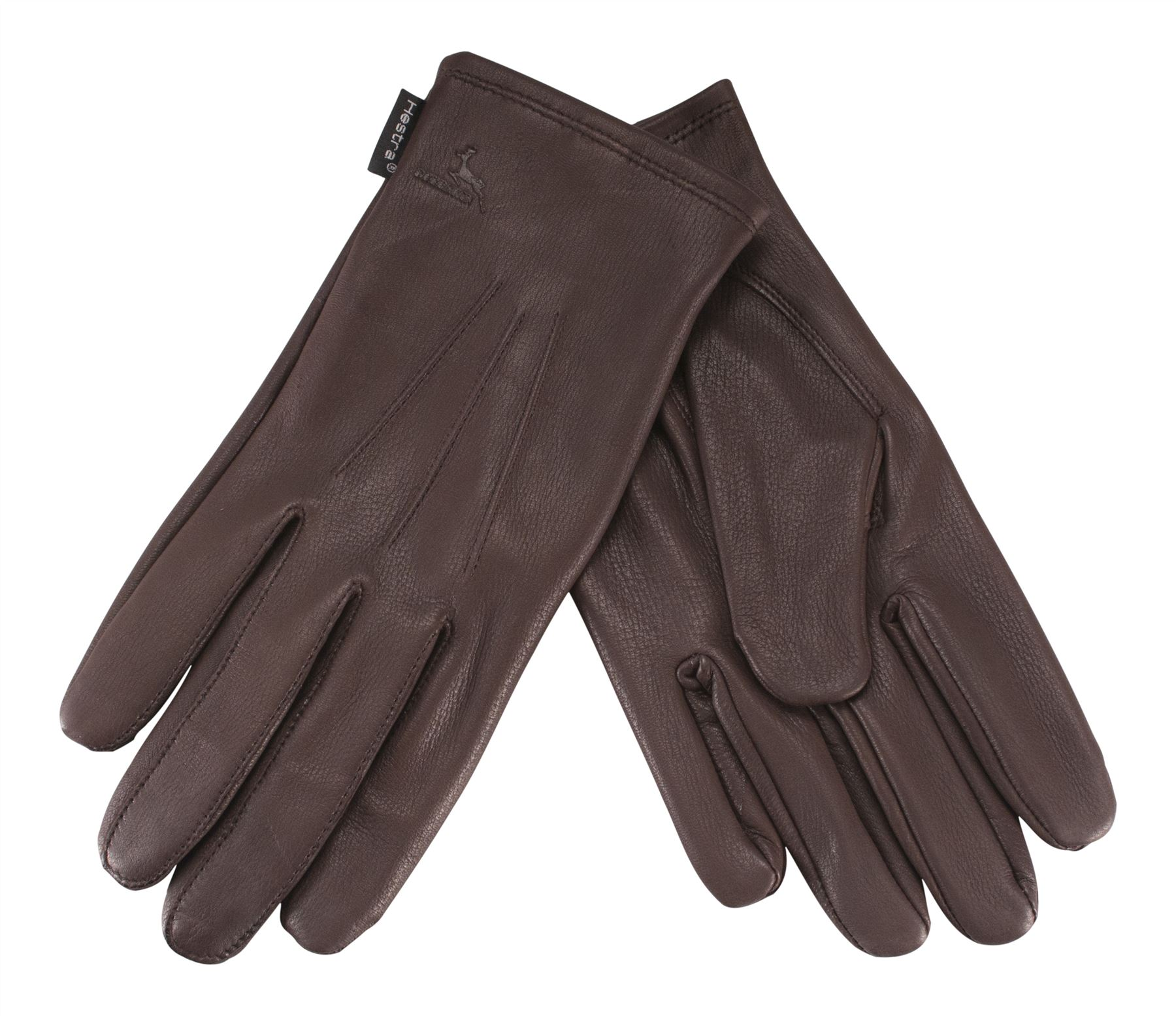 Mens deerskin gloves - Hestra Mens Deer Skin Leather Gloves Silk Lined