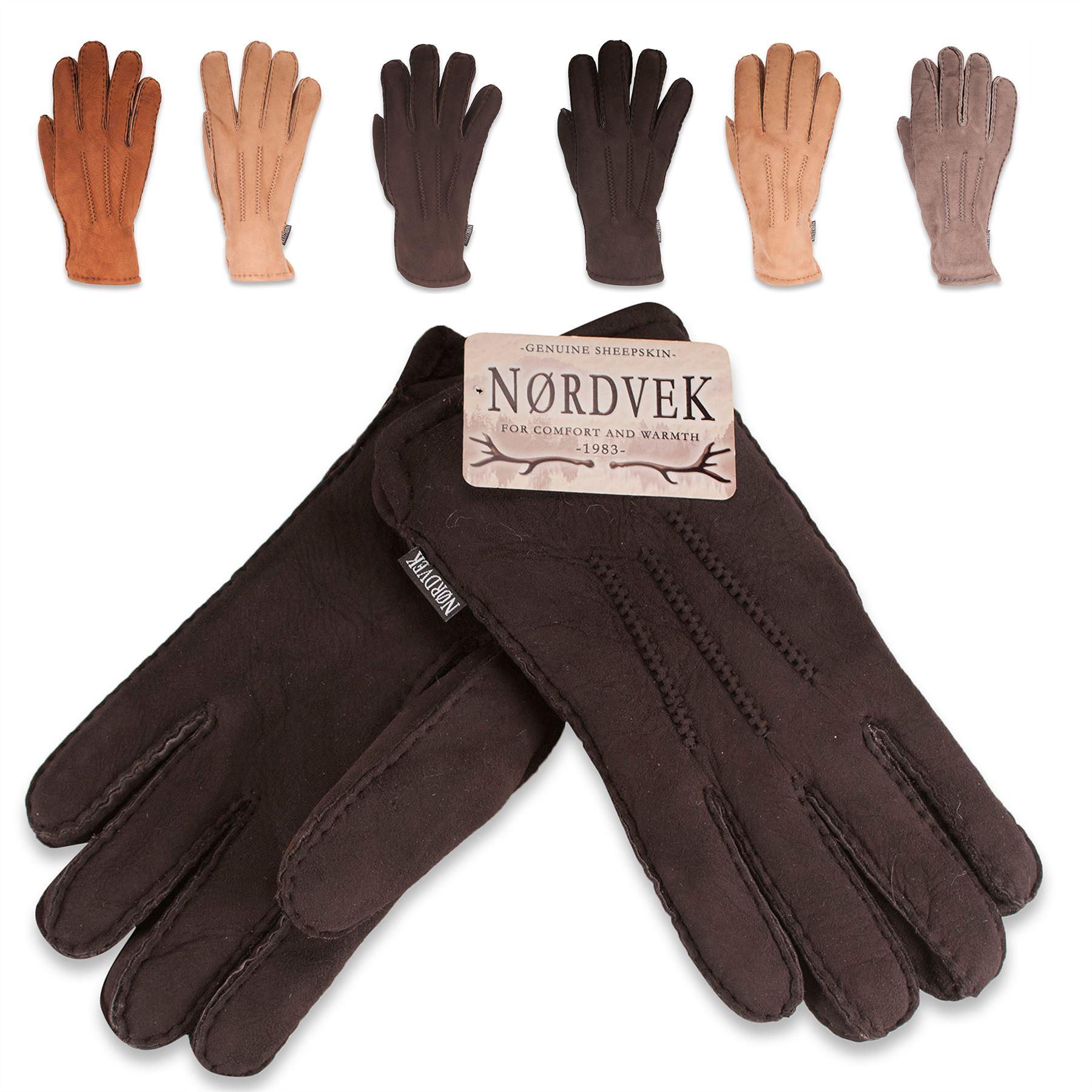 Mens sheepskin gloves uk - Description