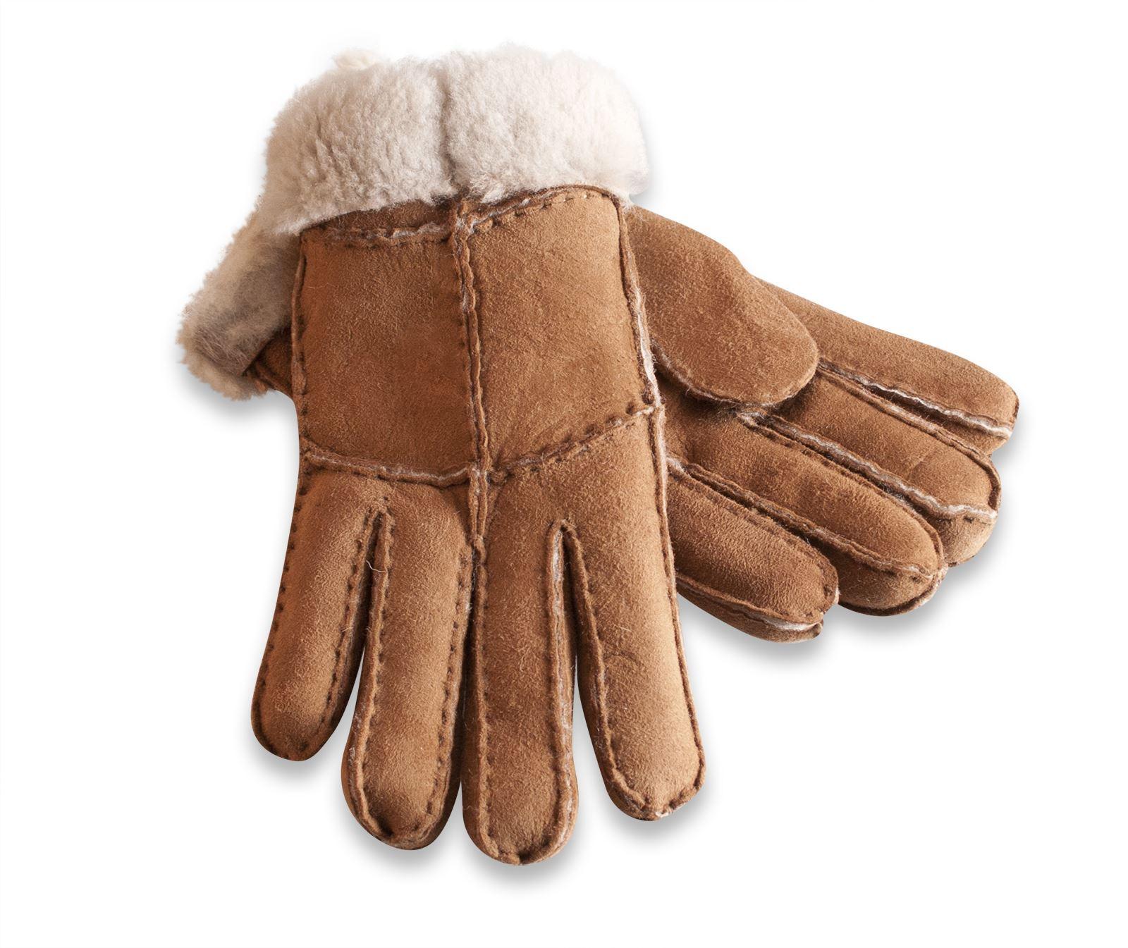 Nordvek Ladies Merino Wool Sheepskin Gloves Super Soft