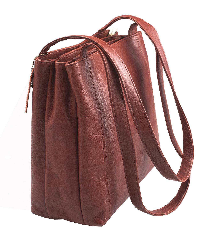 Sac main cabas femme en cuir visconti avec lani re paule nouveau 18181 ebay - Laniere en cuir ...