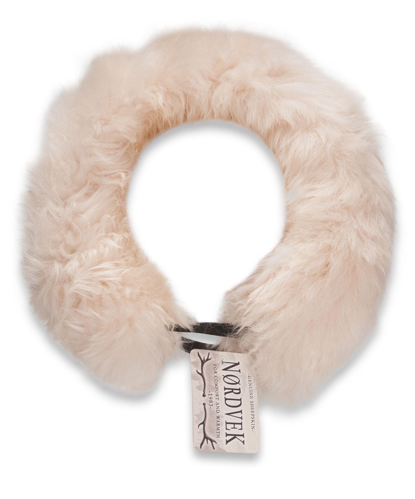 nordvek peau de mouton v ritable lastique bandeau t te bande mesdames femmes ebay. Black Bedroom Furniture Sets. Home Design Ideas