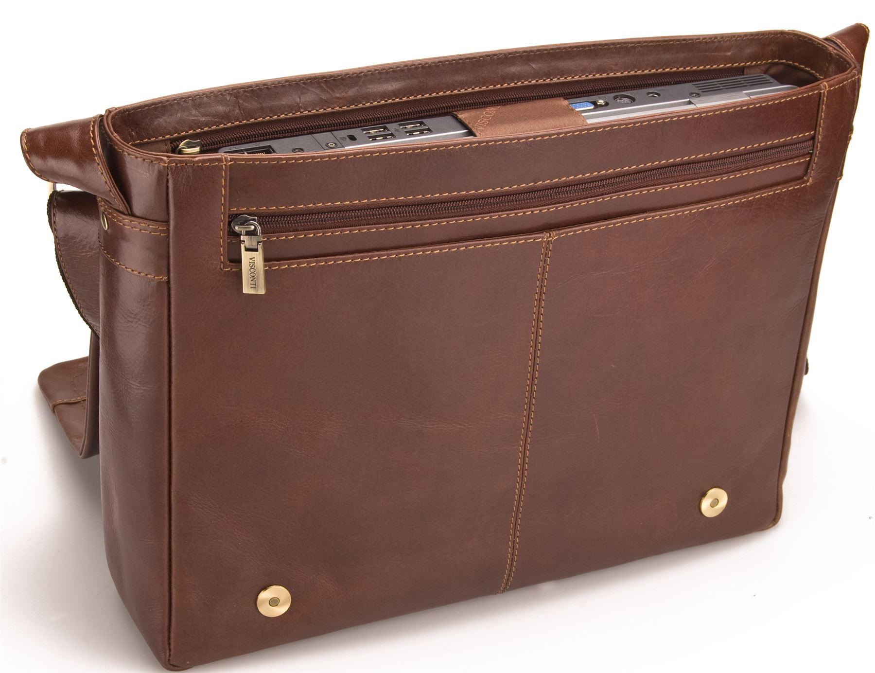 sac ordinateur portable homme femme visconti cuir vintage nouveau vt 5 ebay. Black Bedroom Furniture Sets. Home Design Ideas