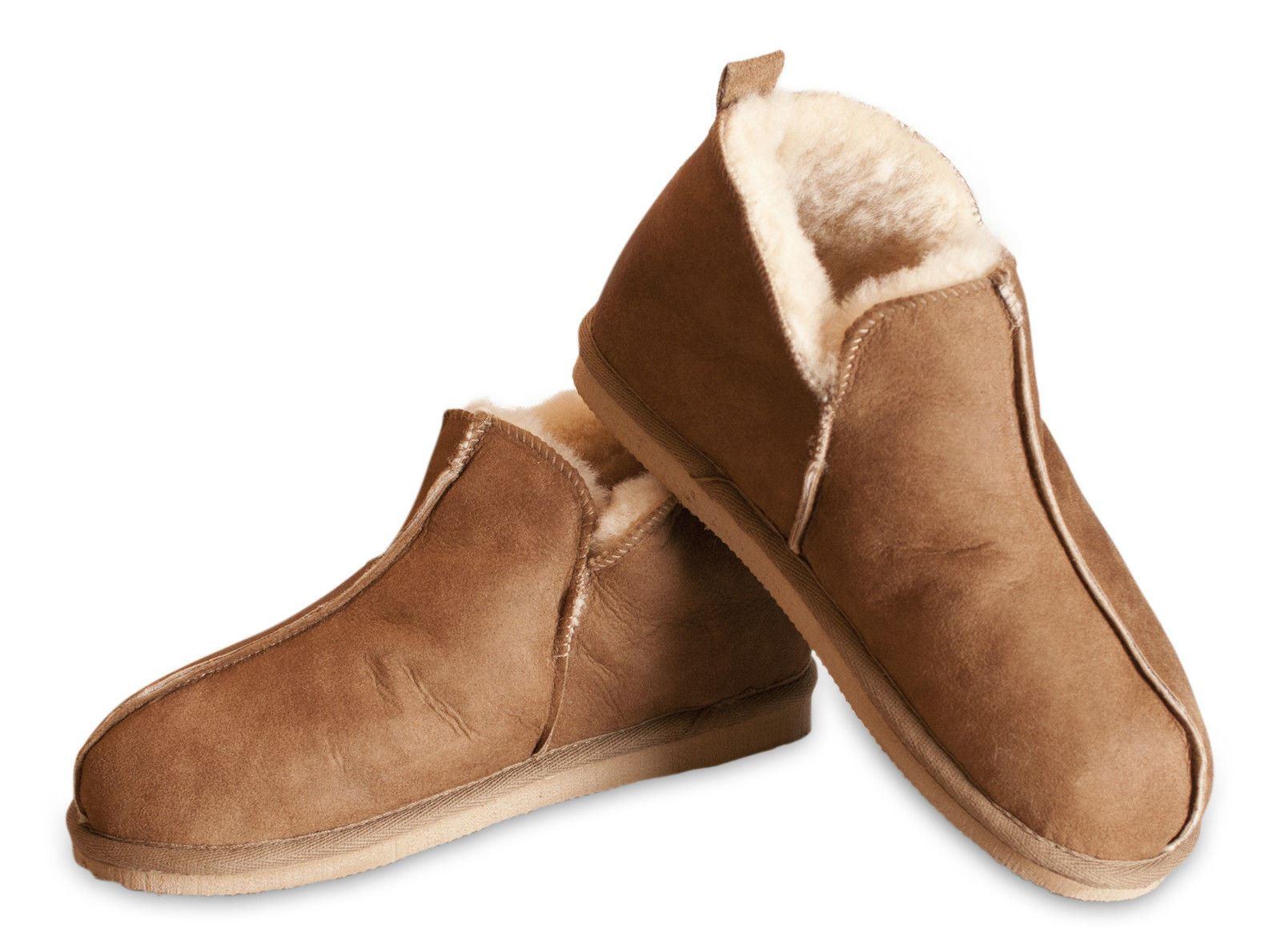 Zapatillas estar por casa hombre shepherd 100 piel oveja suela dura anton 4921 ebay - Zapatillas para casa ...