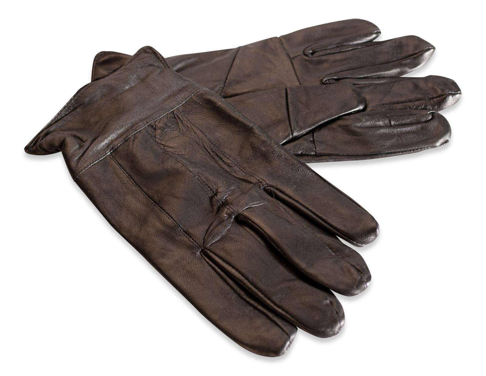 Mens leather gloves with cuff - Grab A Bargain With These Soft Leather Gloves Designed With Elasticated Cuff And Fabric Lining For Extra Warmth