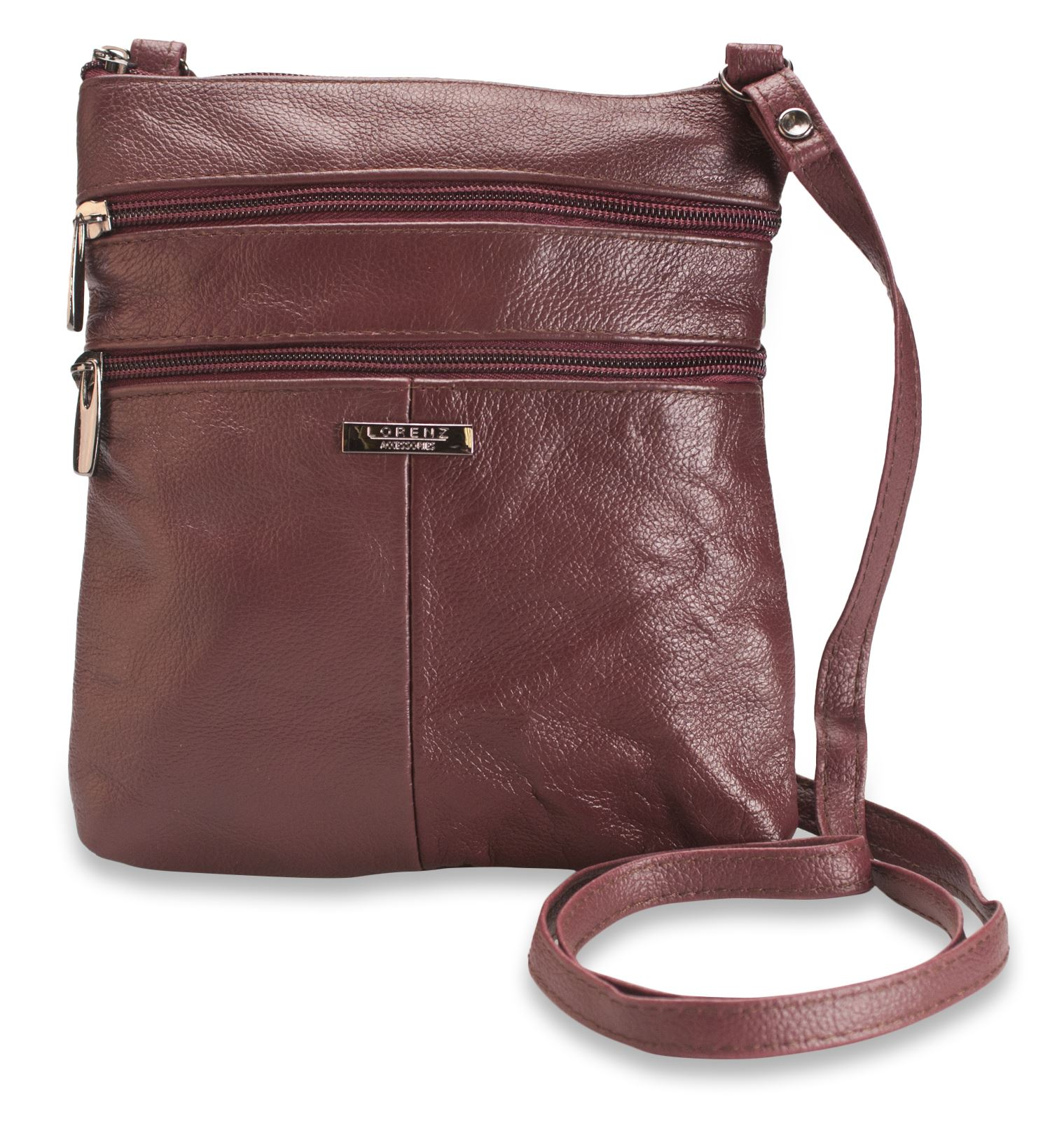 Lorenz-Genuine-Soft-Leather-Ladies-Cross-Body-Shoulder-Bag-Real-Womens-Medium