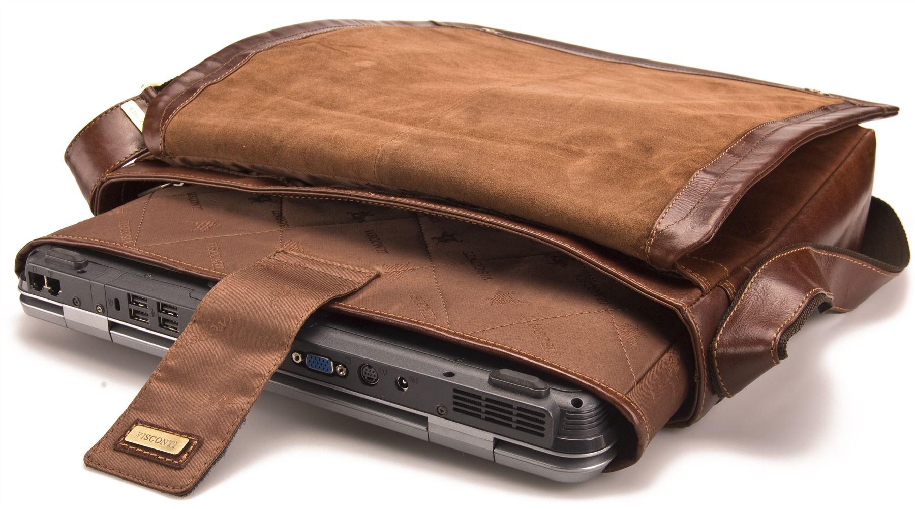 sac ordinateur portable homme femme visconti cuir vintage. Black Bedroom Furniture Sets. Home Design Ideas