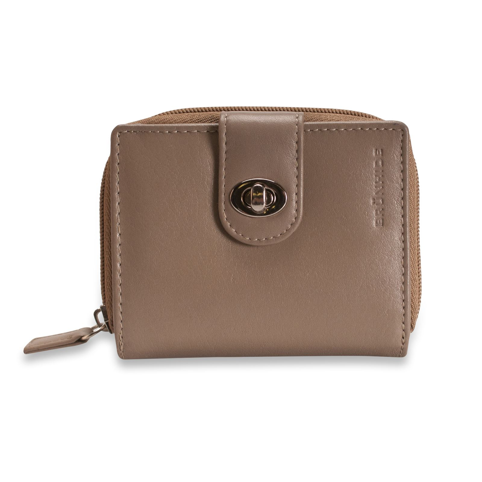 Brunhide Ladies Real Leather Purse Wallet Secure Soft ...