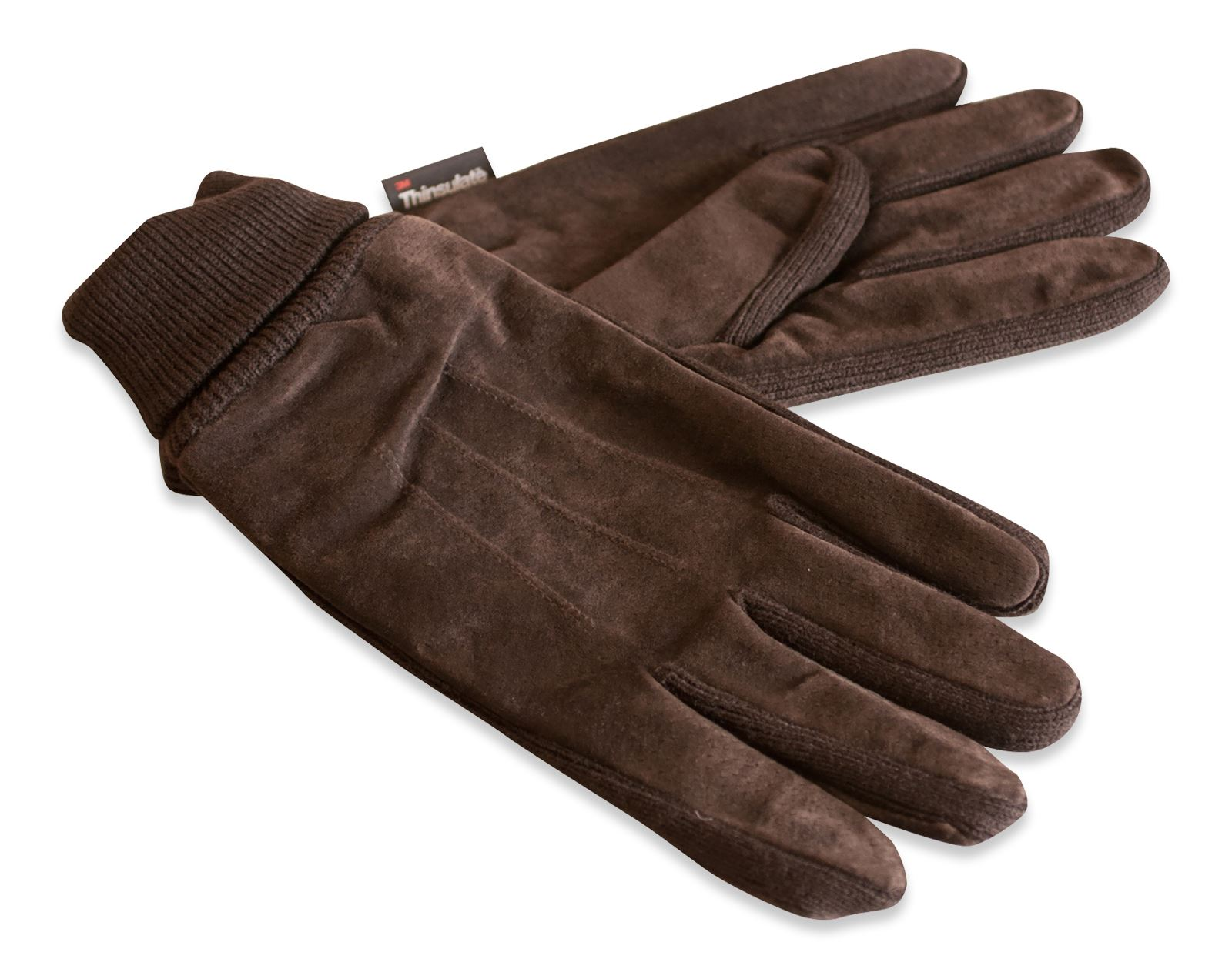 Womens leather gloves thinsulate lining -  Picture 10 Of 16