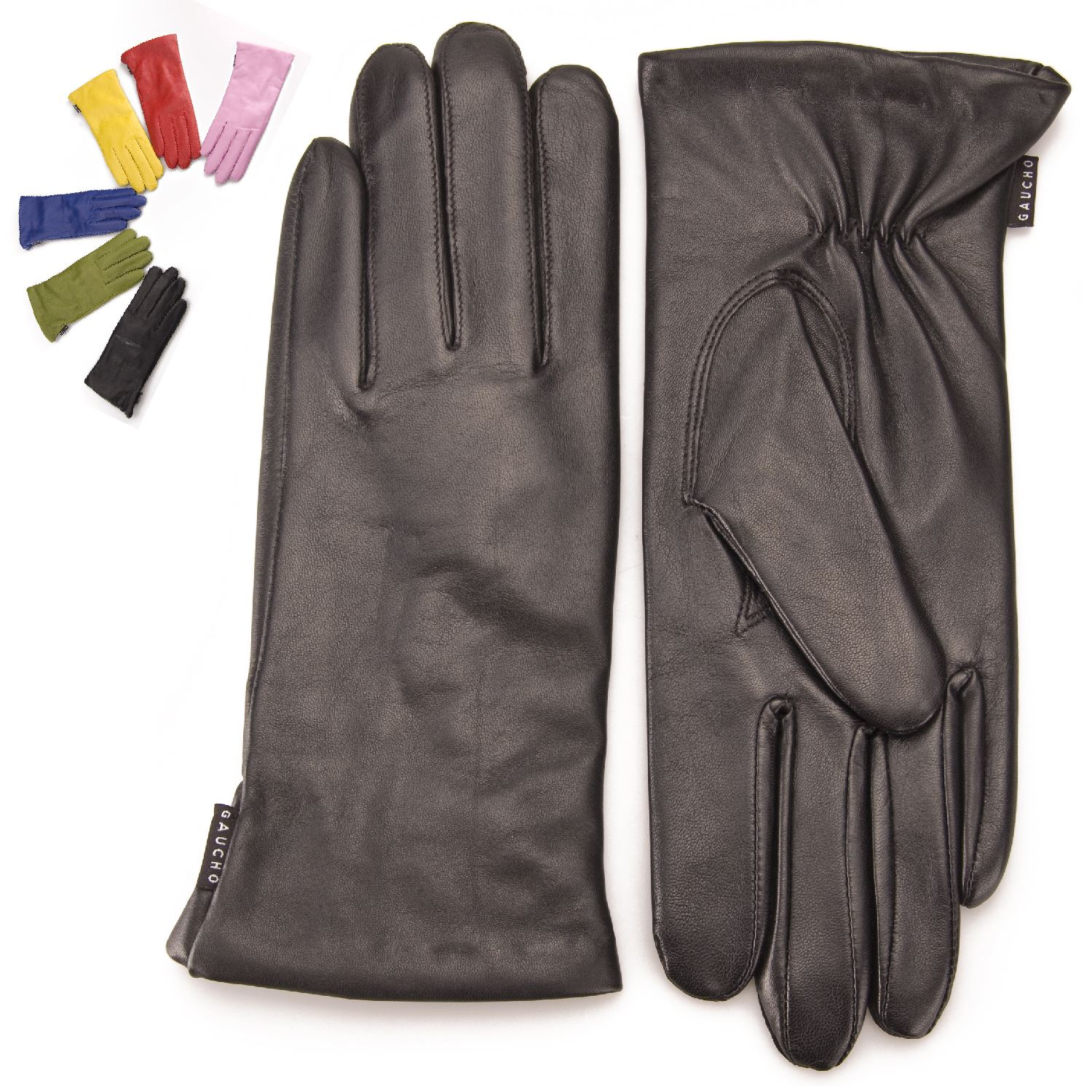 Ladies leather gloves wool lined -  Gaucho Premium Womens Wool Lined Genuine Soft Leather Gloves