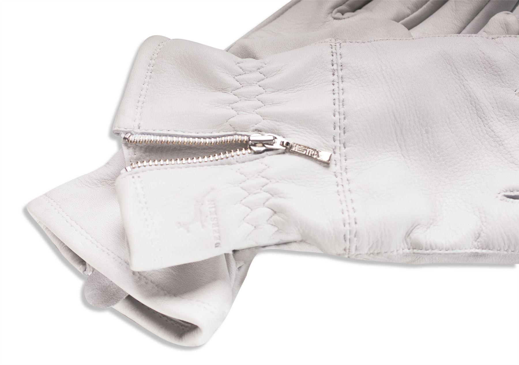 Ladies leather gloves wool lined - Hestra Ladies Real Deerskin Leather Gloves Merino Wool
