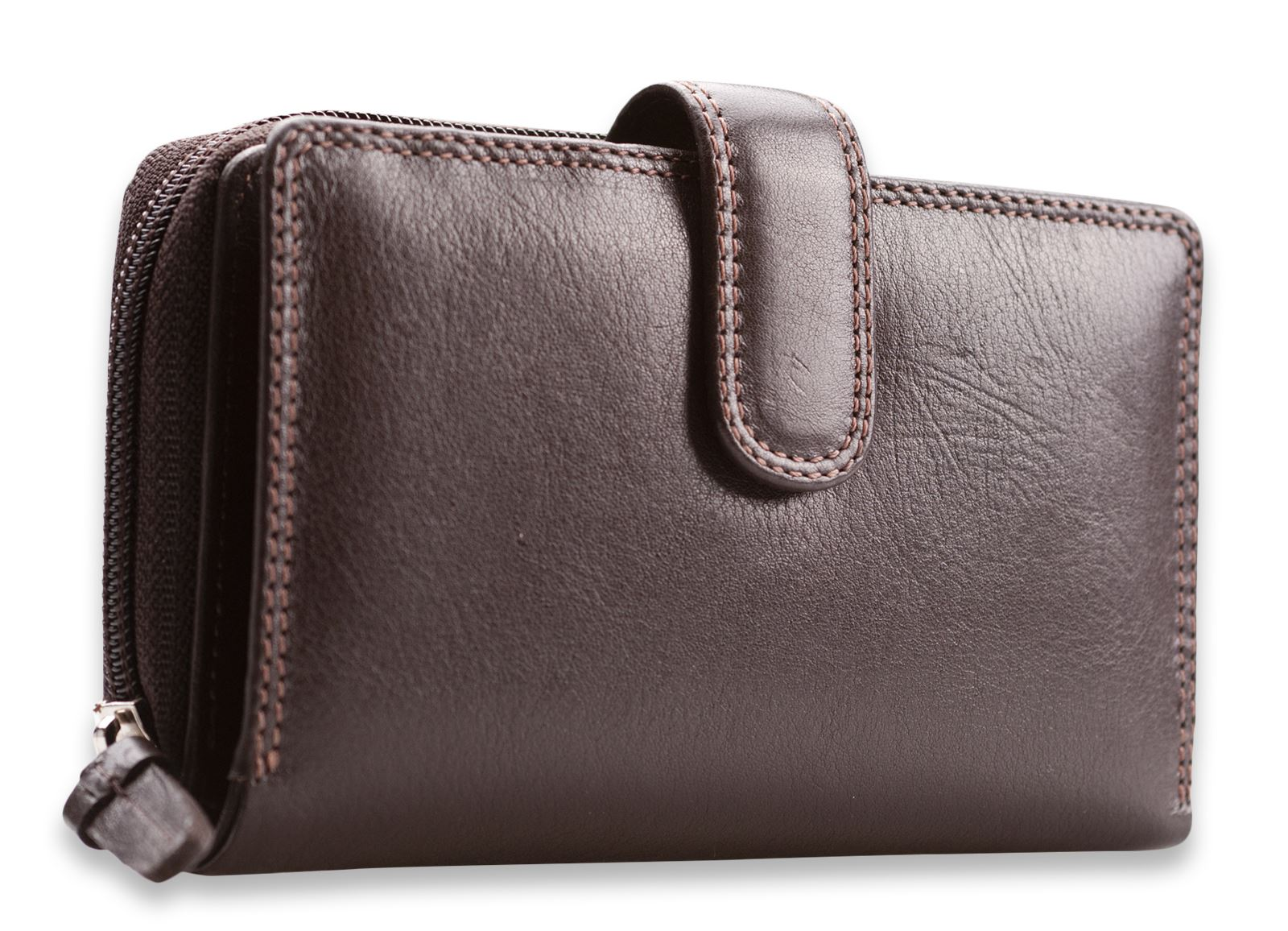 Visconti Womens Large Soft Leather Purse Wallet Ladies ...