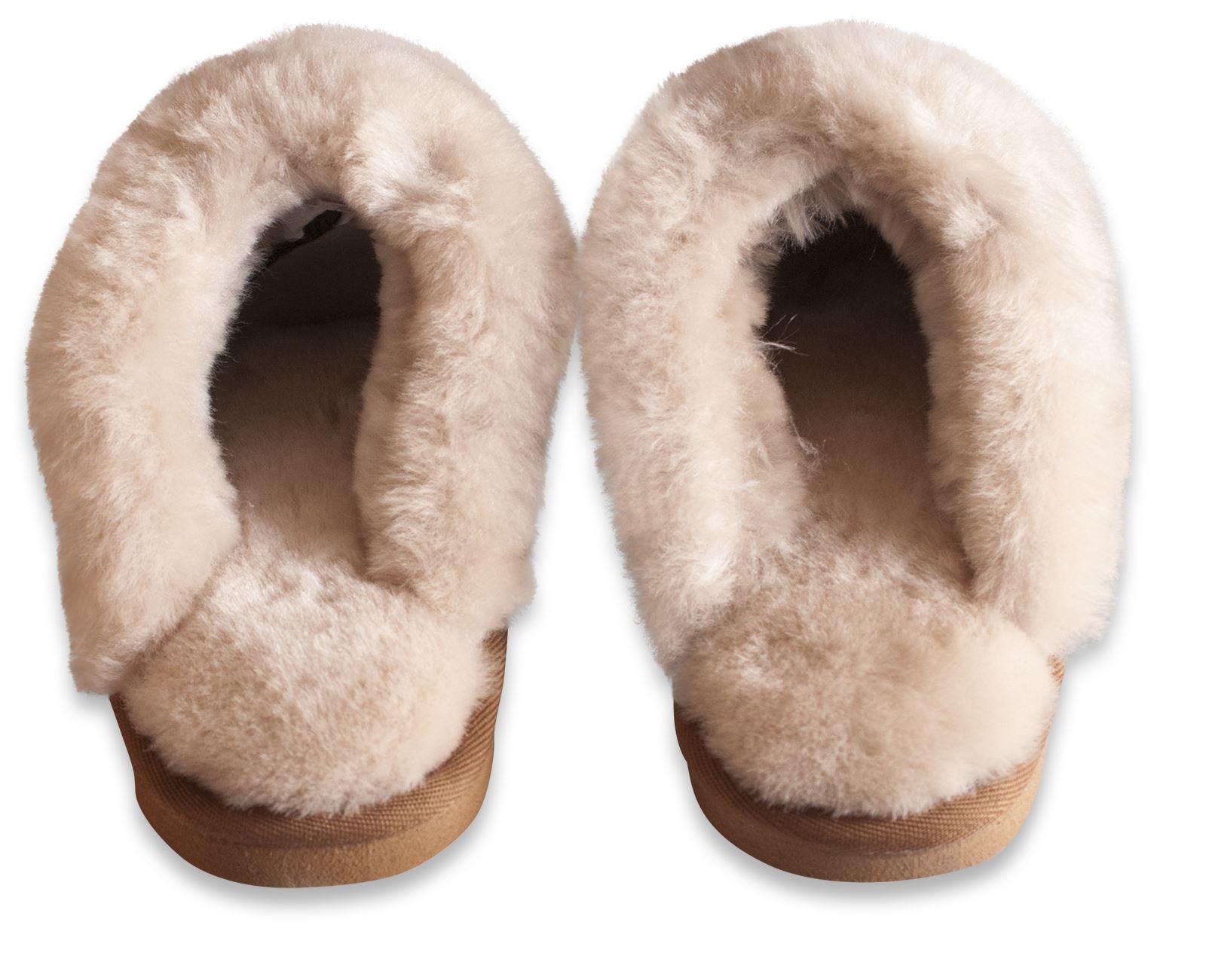 mules pantoufles femme semelles antid rapantes nordvek v ritable peau de mouton ebay. Black Bedroom Furniture Sets. Home Design Ideas