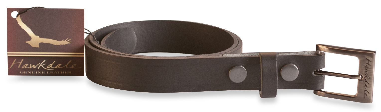 hawkdale mens mans quality leather belt belts new