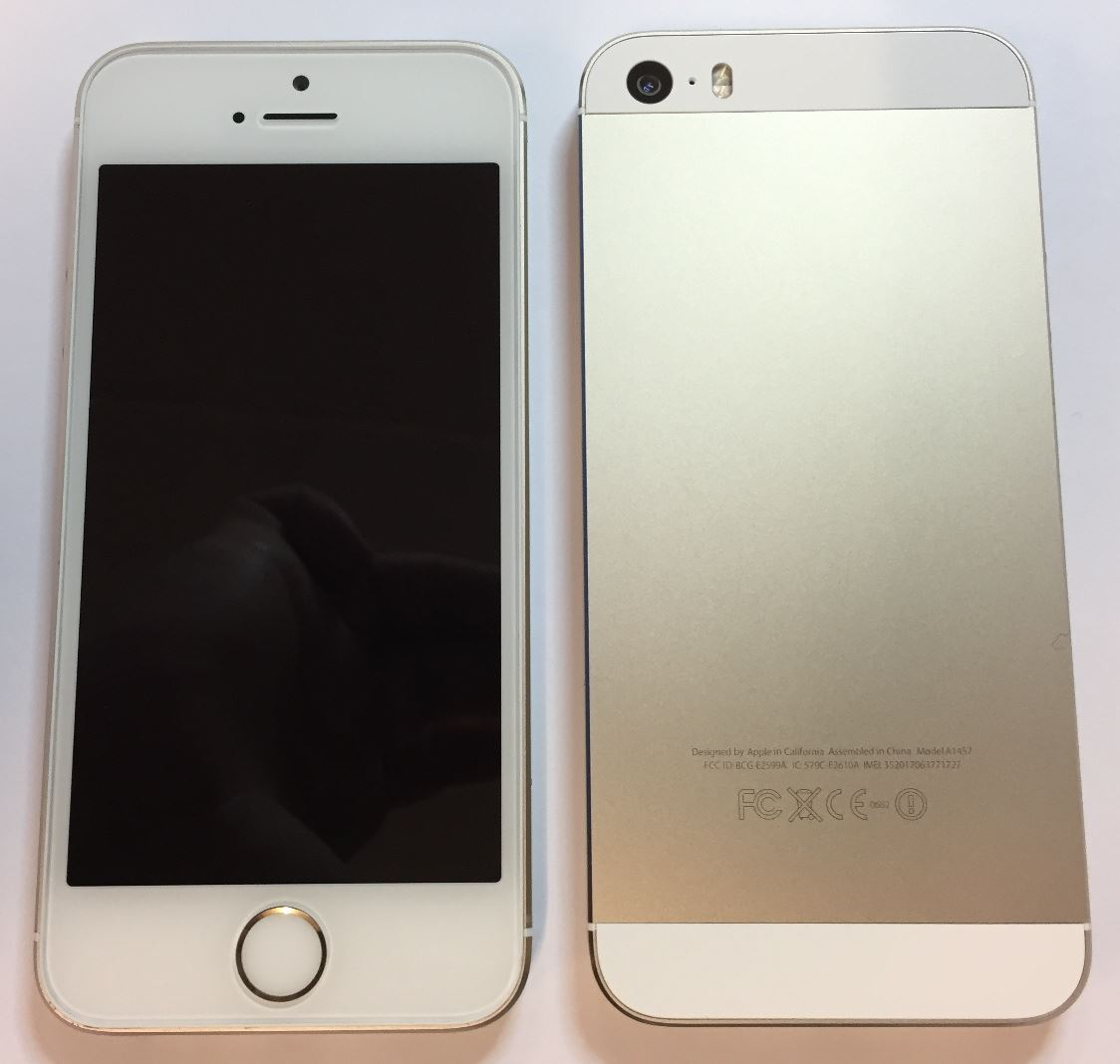 apple iphone 5s 32gb gold unlocked refurbished grade a condition ebay. Black Bedroom Furniture Sets. Home Design Ideas