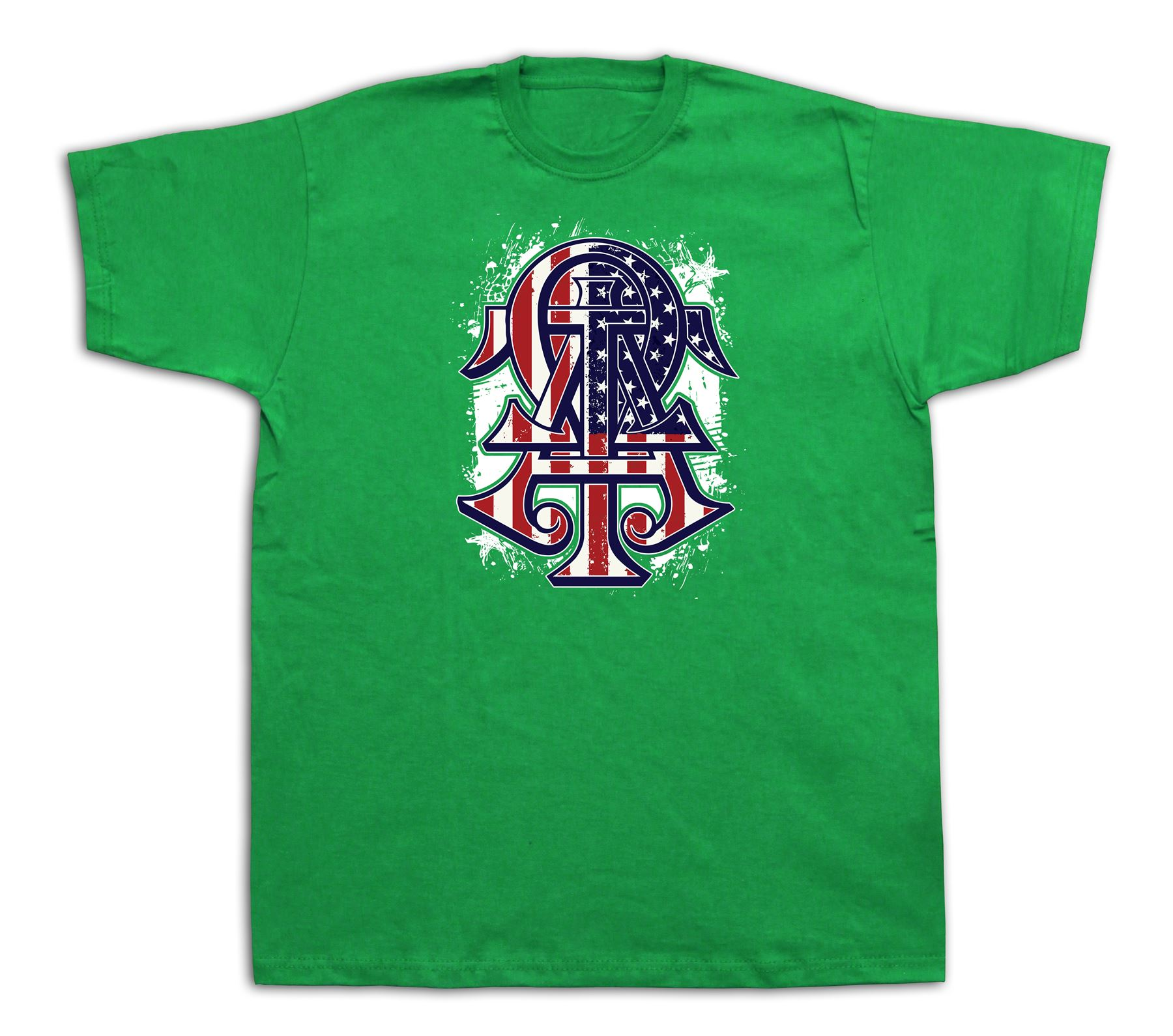 Omega usa flag t shirt master tee rare signcharm lucj tee for T shirt printing usa