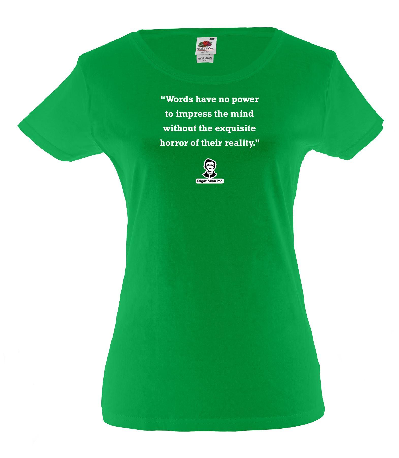 Shirt design words - Ladies Printed White Cotton T Shirt Fashion Design