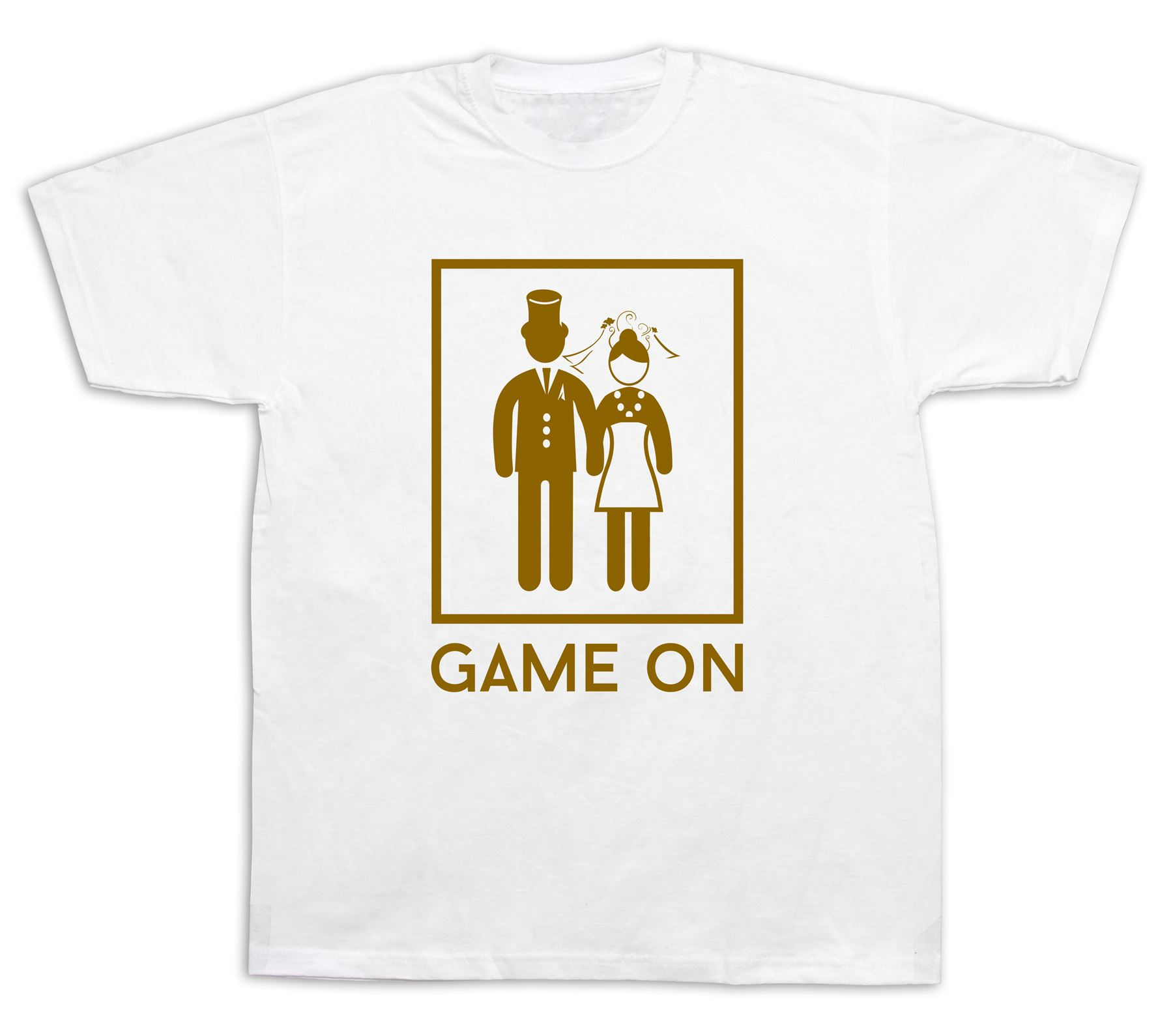 Game over marriage wedding t shirts fashion funny party for Novelty bride wedding dress t shirt