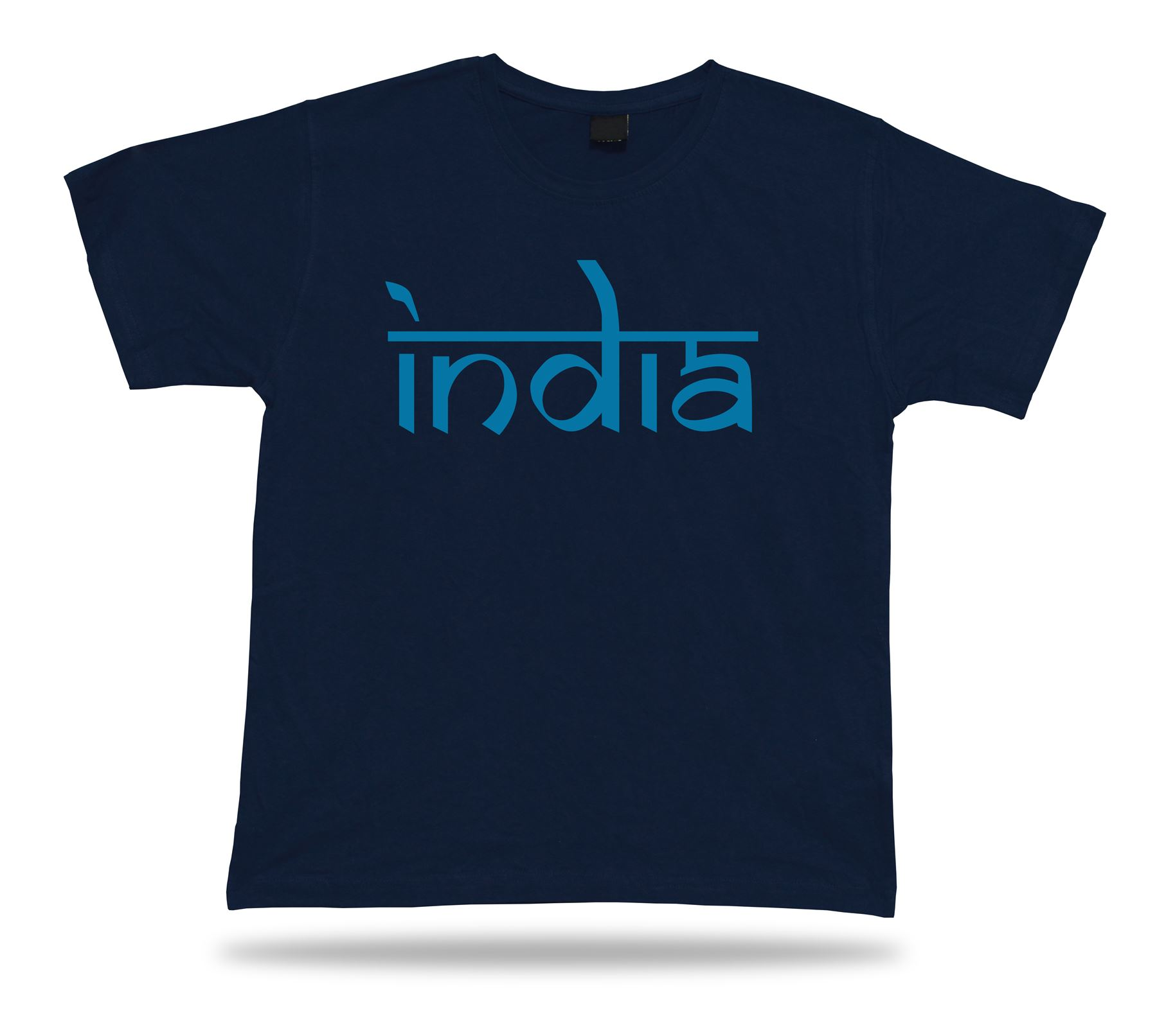 India text stamp t shirt comics classic spiritual apparel for Photo t shirts with text