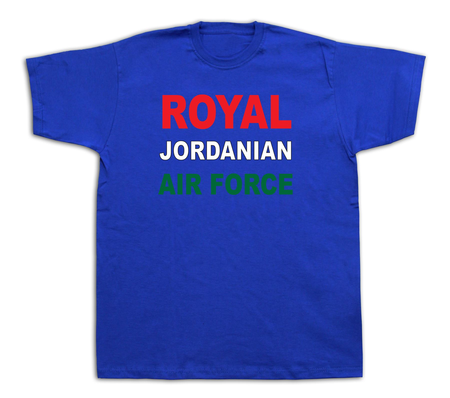Jordanian royal air force pilot plane honor t shirt middle for Jordan royal 1 shirt