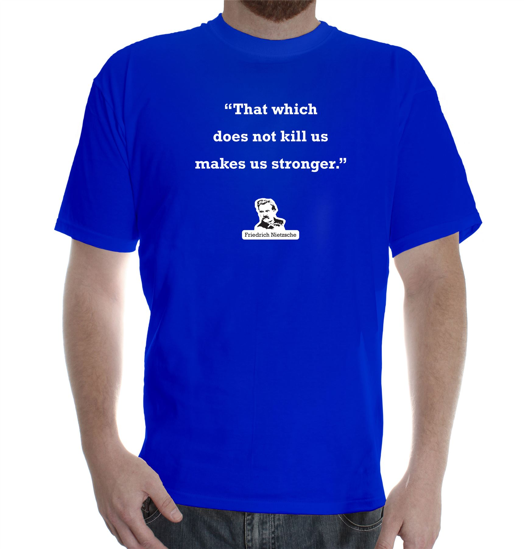 Mens printed cotton t shirt tee shirt design friedrich for Promotional t shirt design