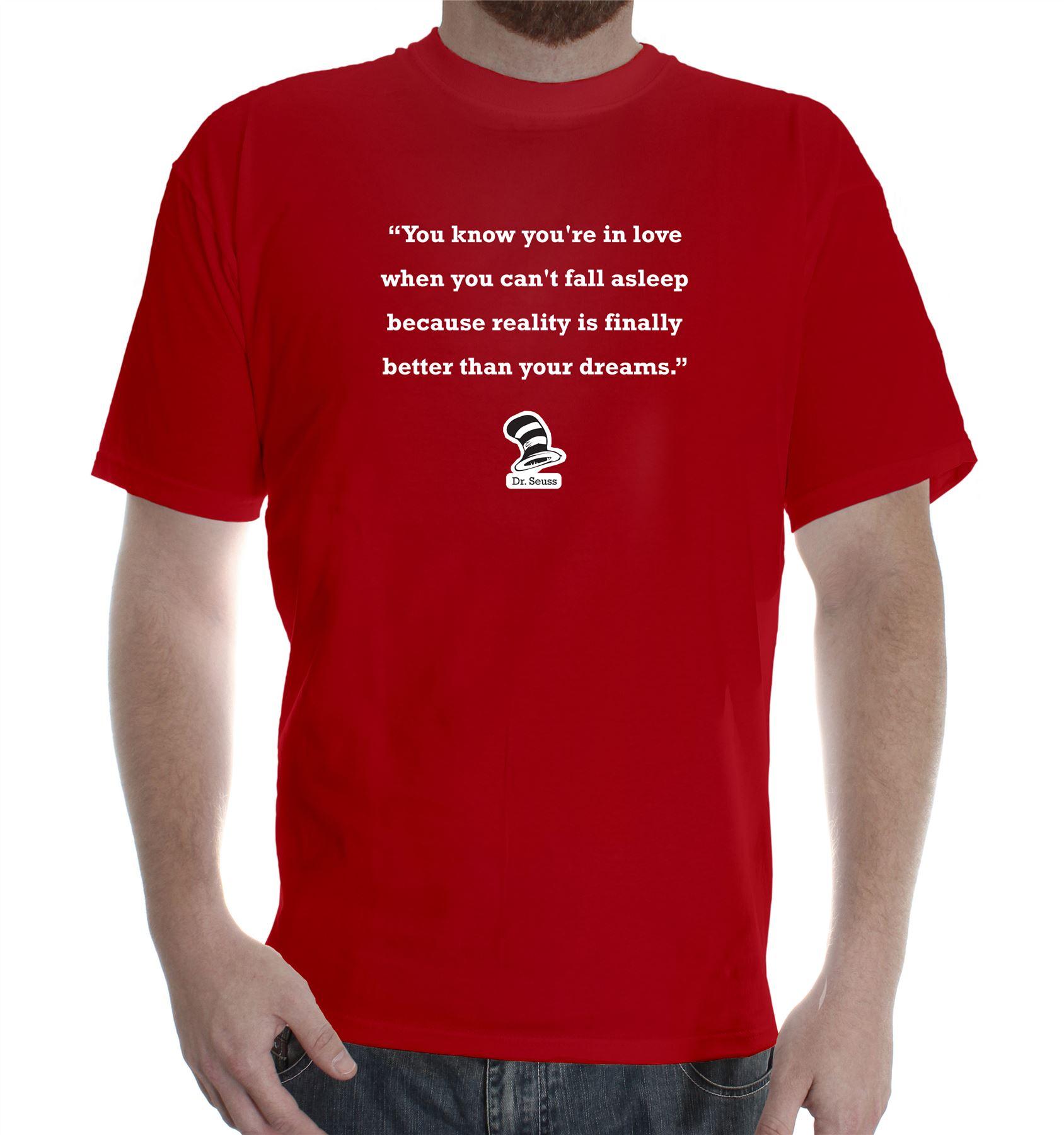 T shirt design red - Mens Printed Cotton T Shirt Tee Shirt Design