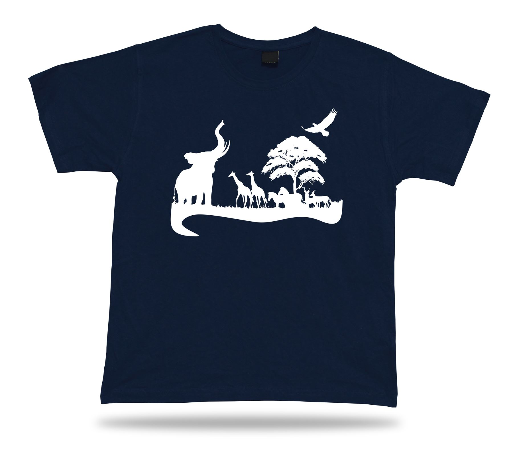 african horizon picure view t shirt special event shirts
